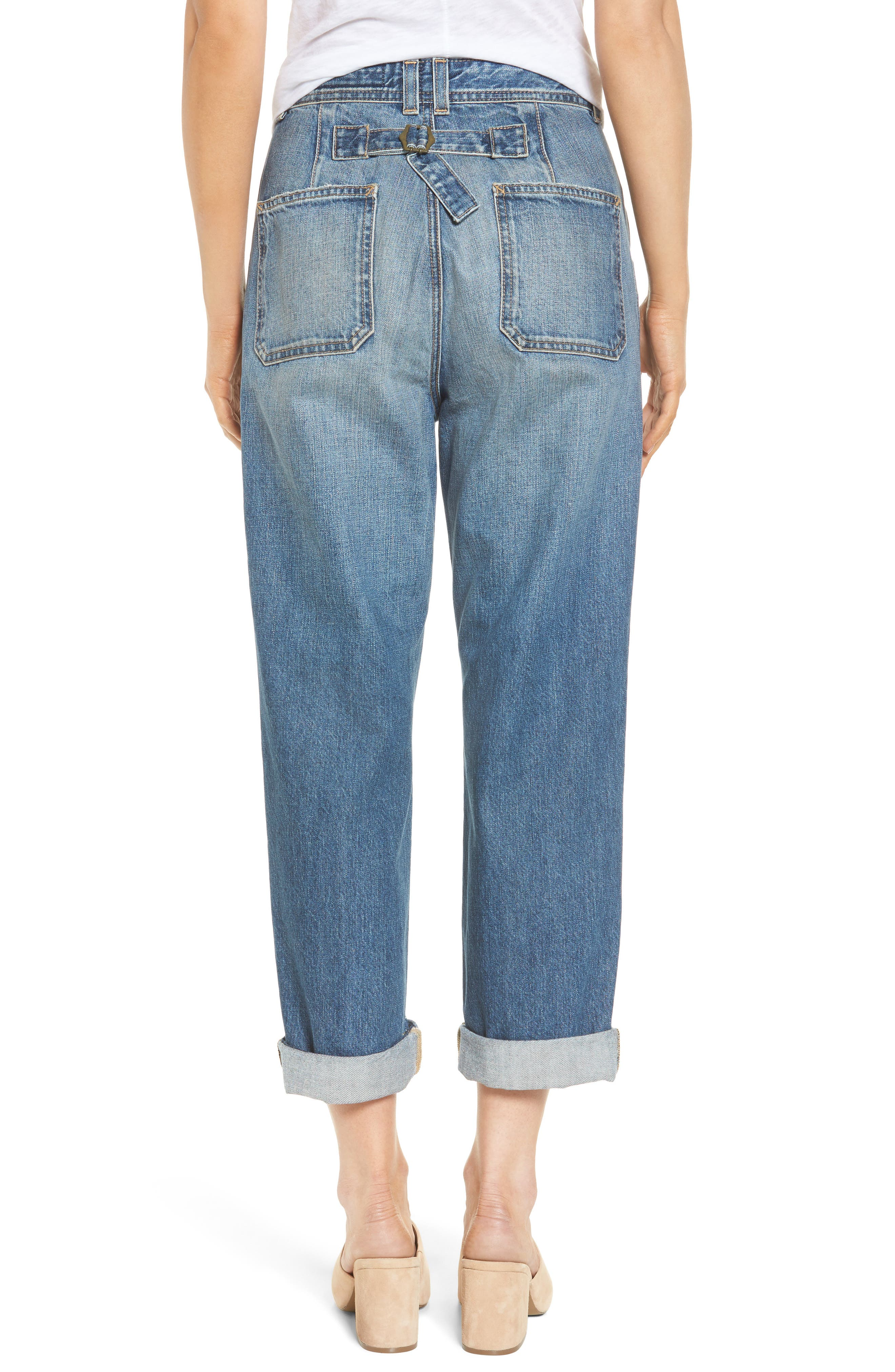 Cody Rolled Hem Jeans,                             Alternate thumbnail 2, color,