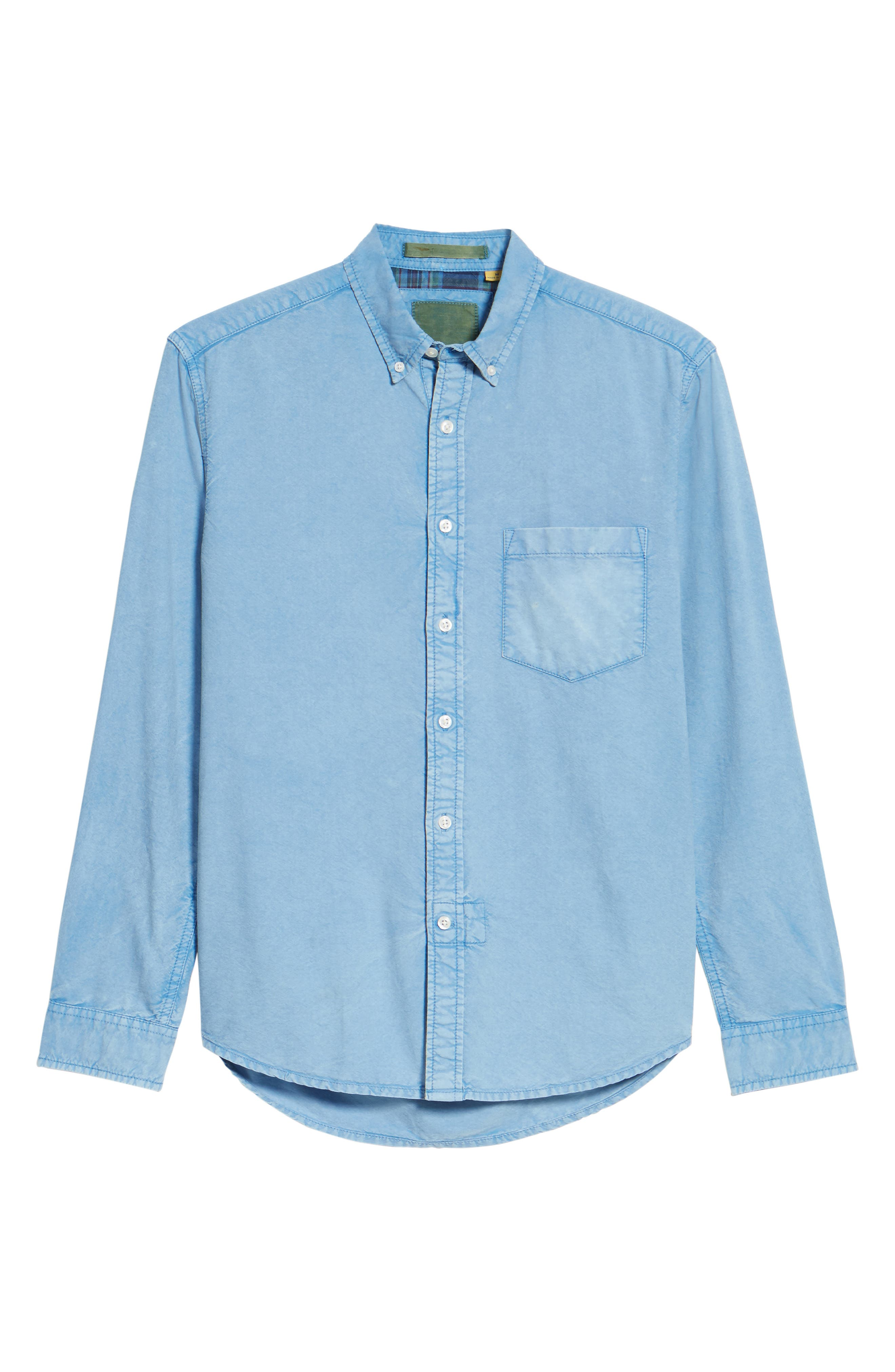 Regular Fit Oxford Sport Shirt,                             Alternate thumbnail 6, color,                             460