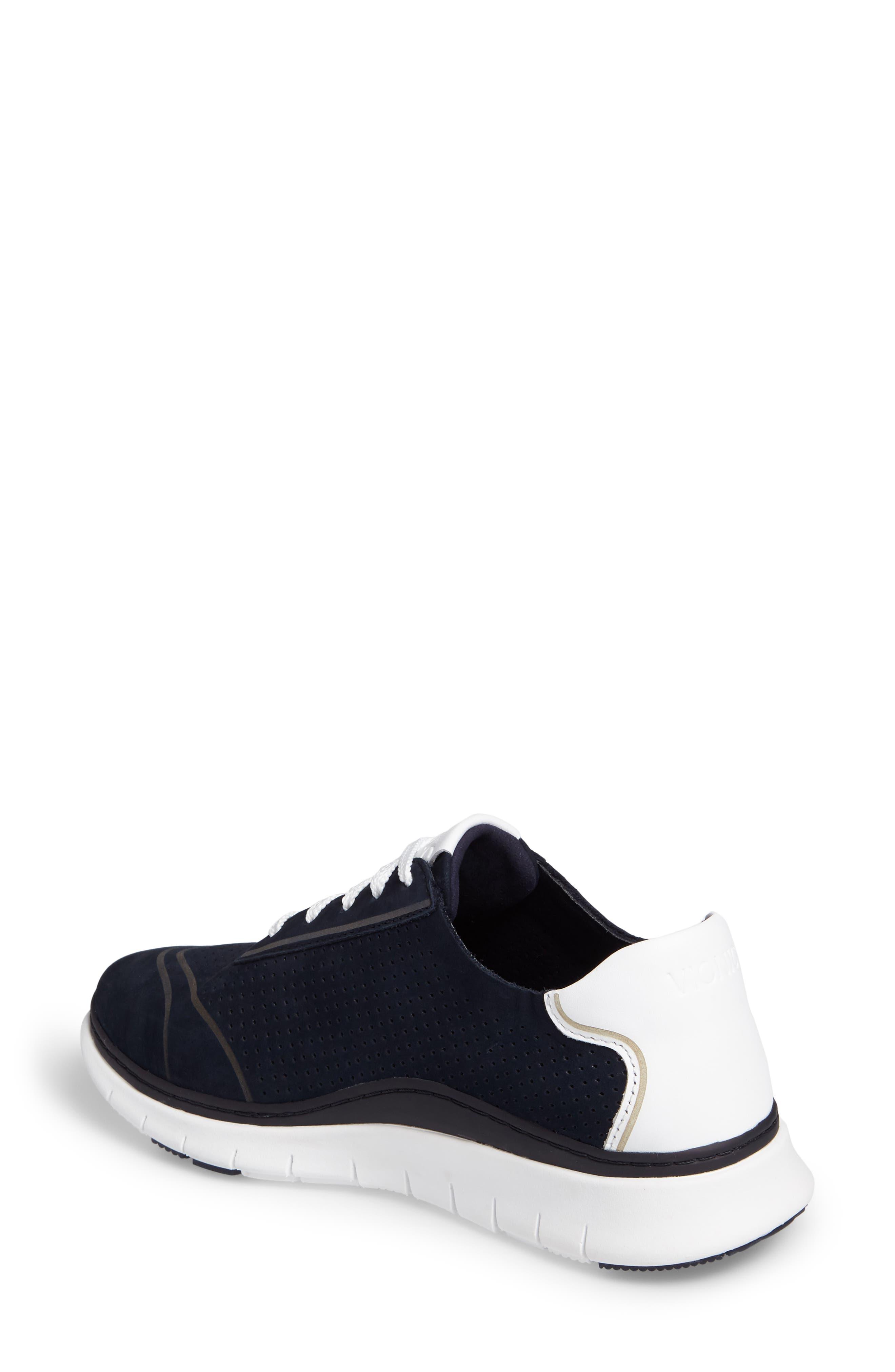 Fresh Riley Perforated Sneaker,                             Alternate thumbnail 8, color,