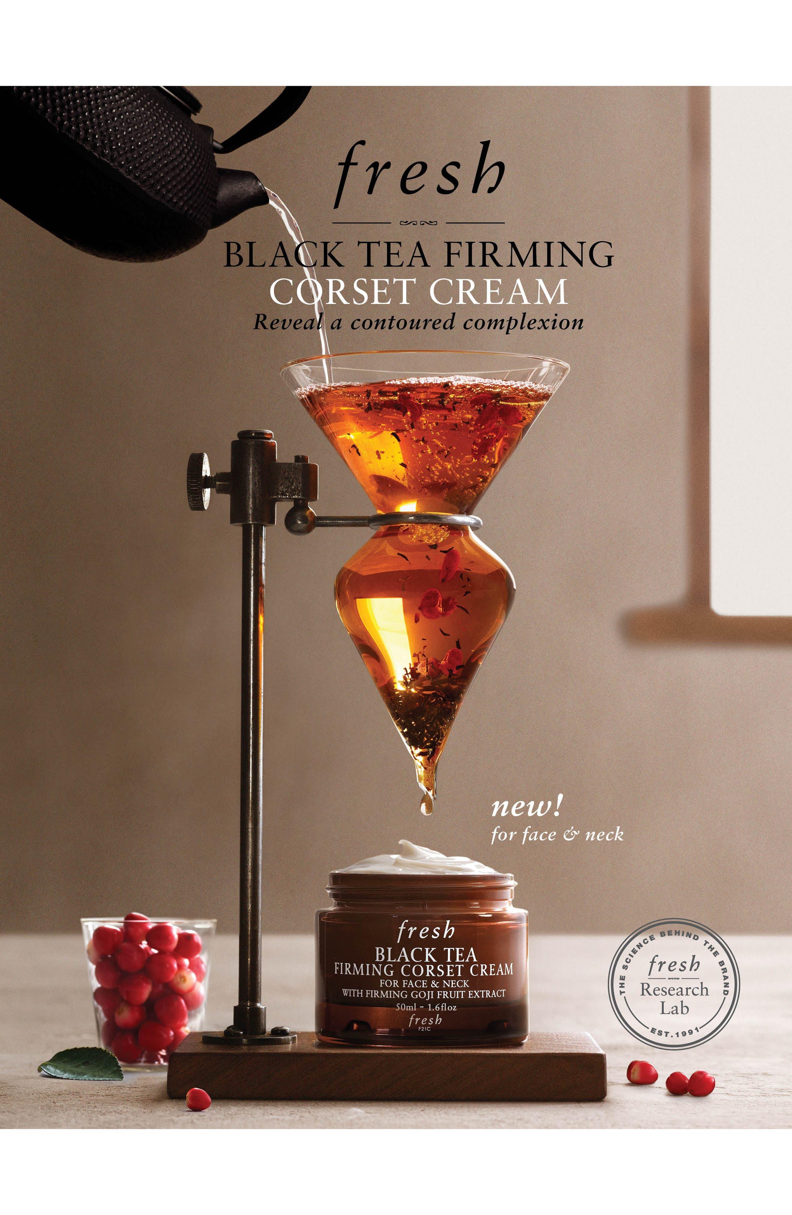 Black Tea Firming Corset Cream,                             Alternate thumbnail 4, color,                             NO COLOR