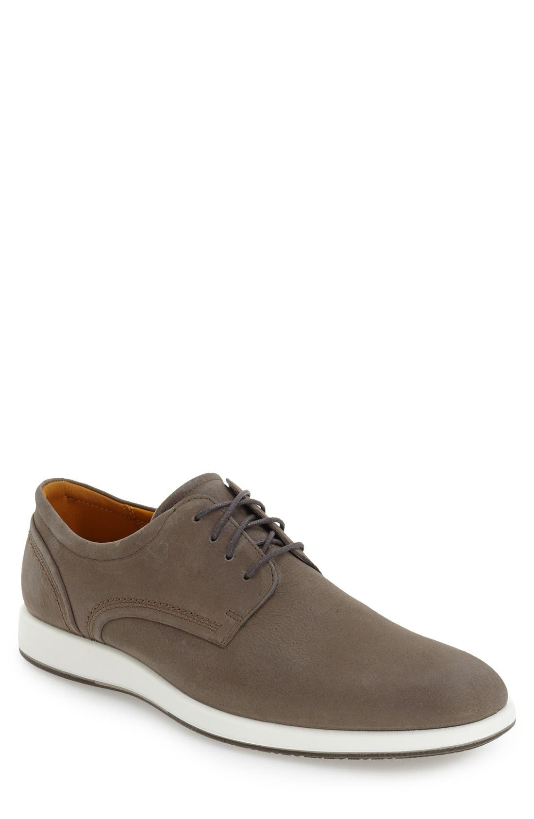 'Jared' Leather Oxford,                             Main thumbnail 1, color,                             062