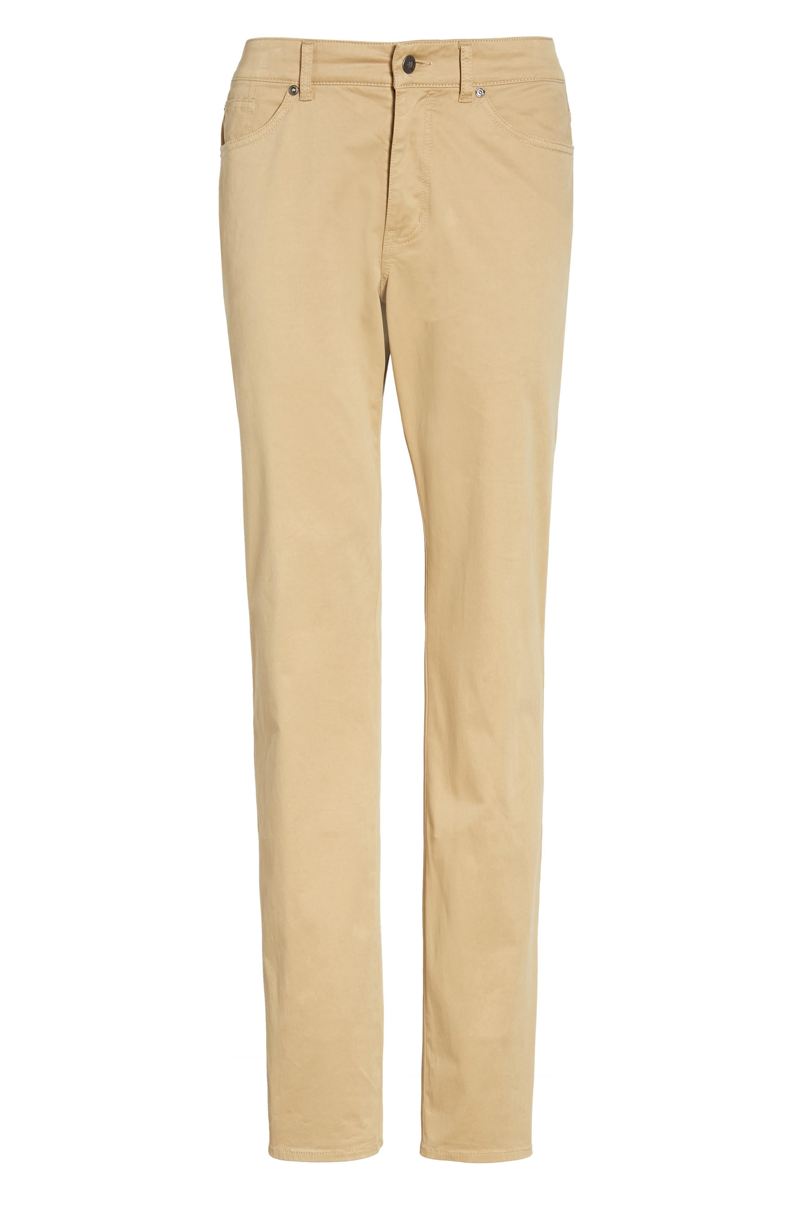 Stretch Sateen Five-Pocket Pants,                             Alternate thumbnail 22, color,