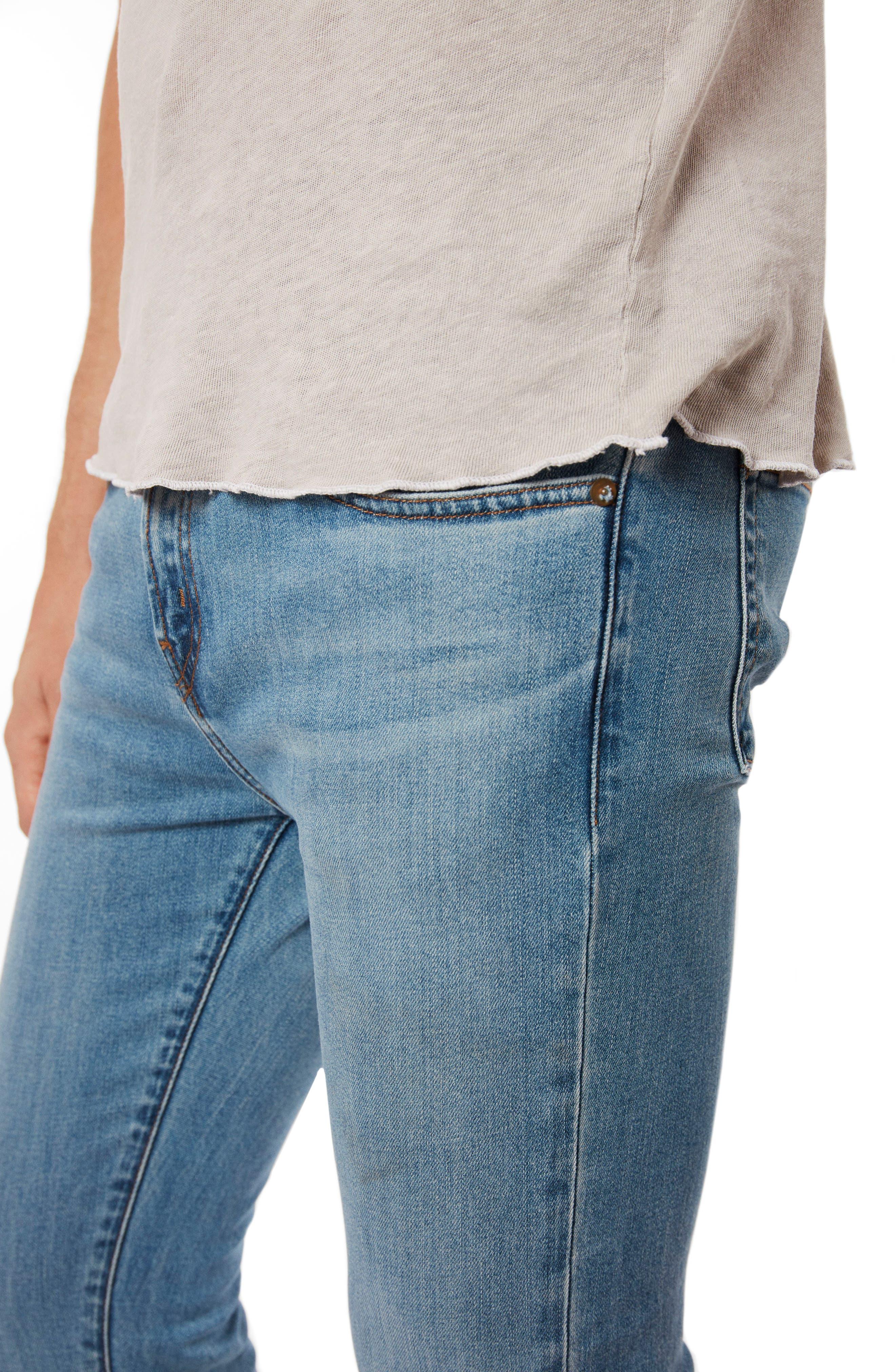 Skinny Fit Jeans,                             Alternate thumbnail 4, color,                             409