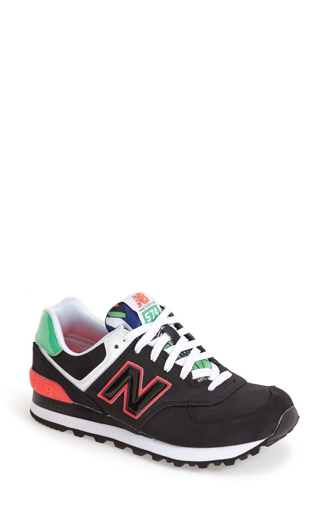 '574 Classic' Sneaker,                             Main thumbnail 1, color,                             001