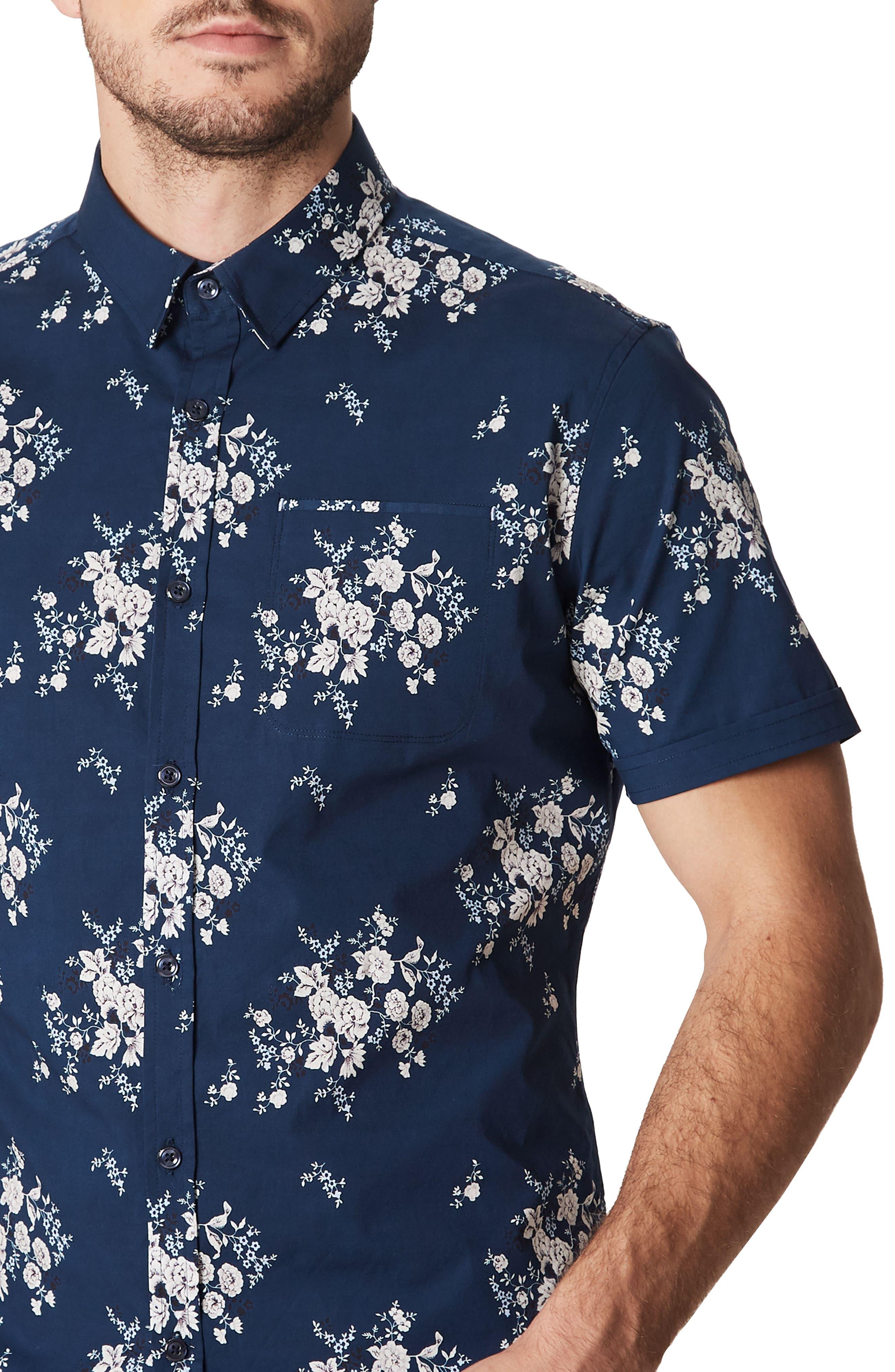Feelin' Free Woven Shirt,                             Alternate thumbnail 4, color,                             410