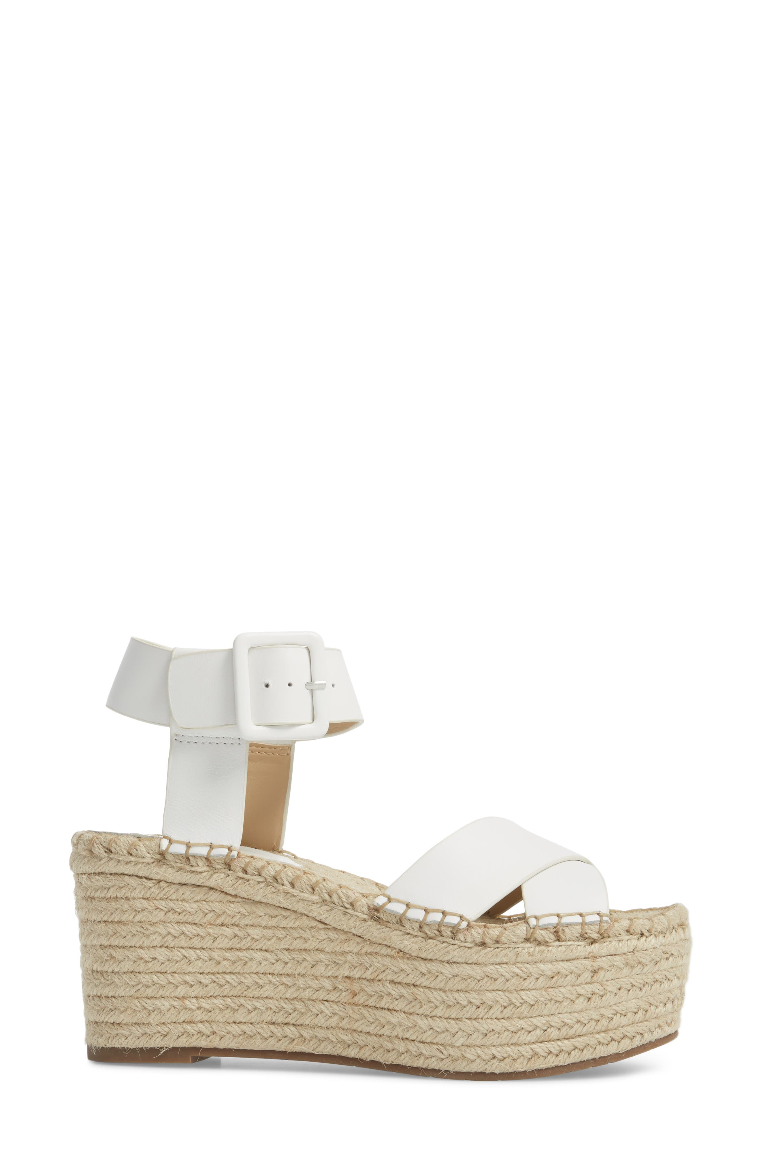 'Randall' Platform Wedge,                             Alternate thumbnail 3, color,                             112