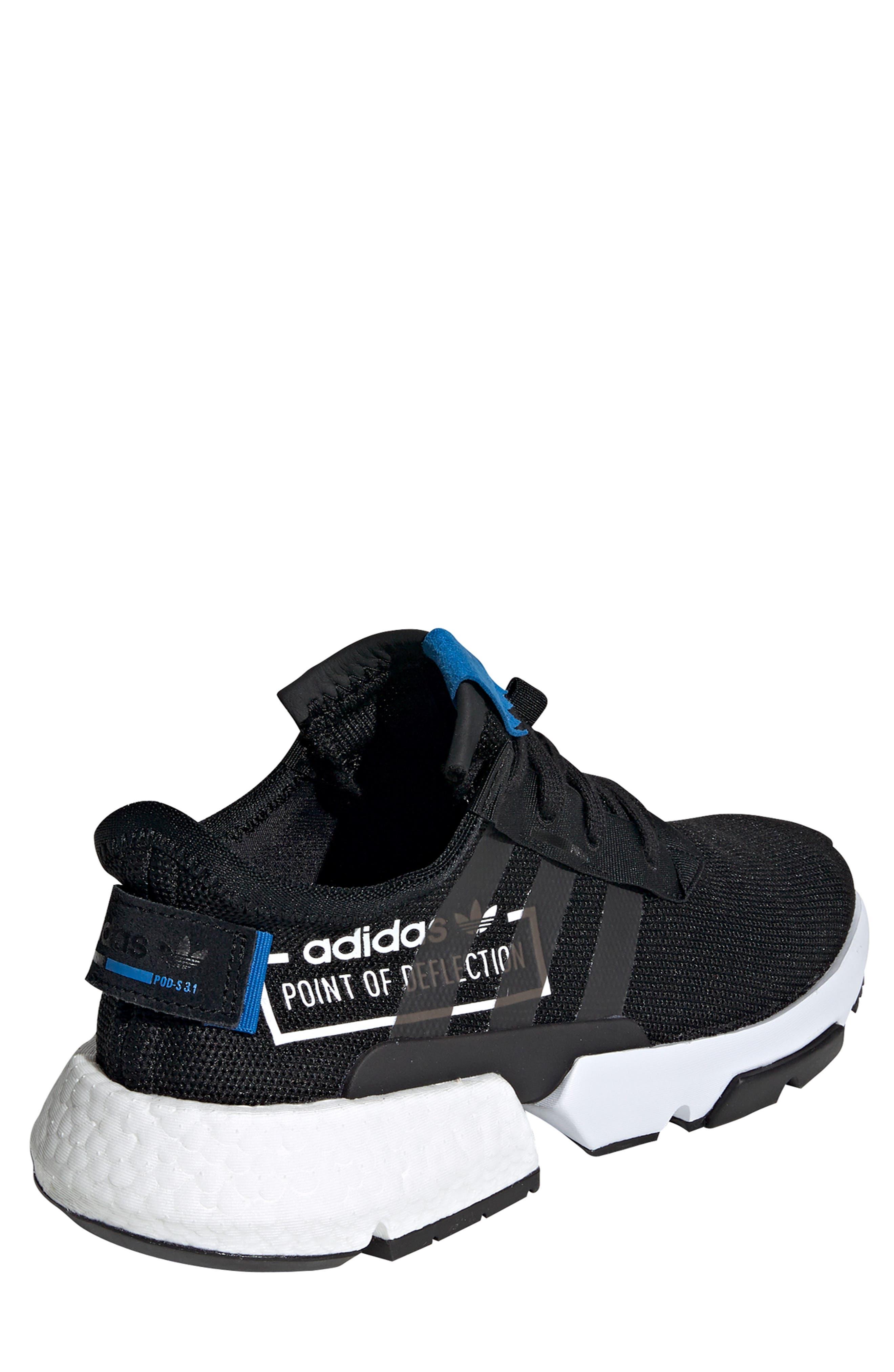 Pod S3.1 Sneaker,                             Alternate thumbnail 2, color,                             BLACK/ BLACK/ BLUEBIRD