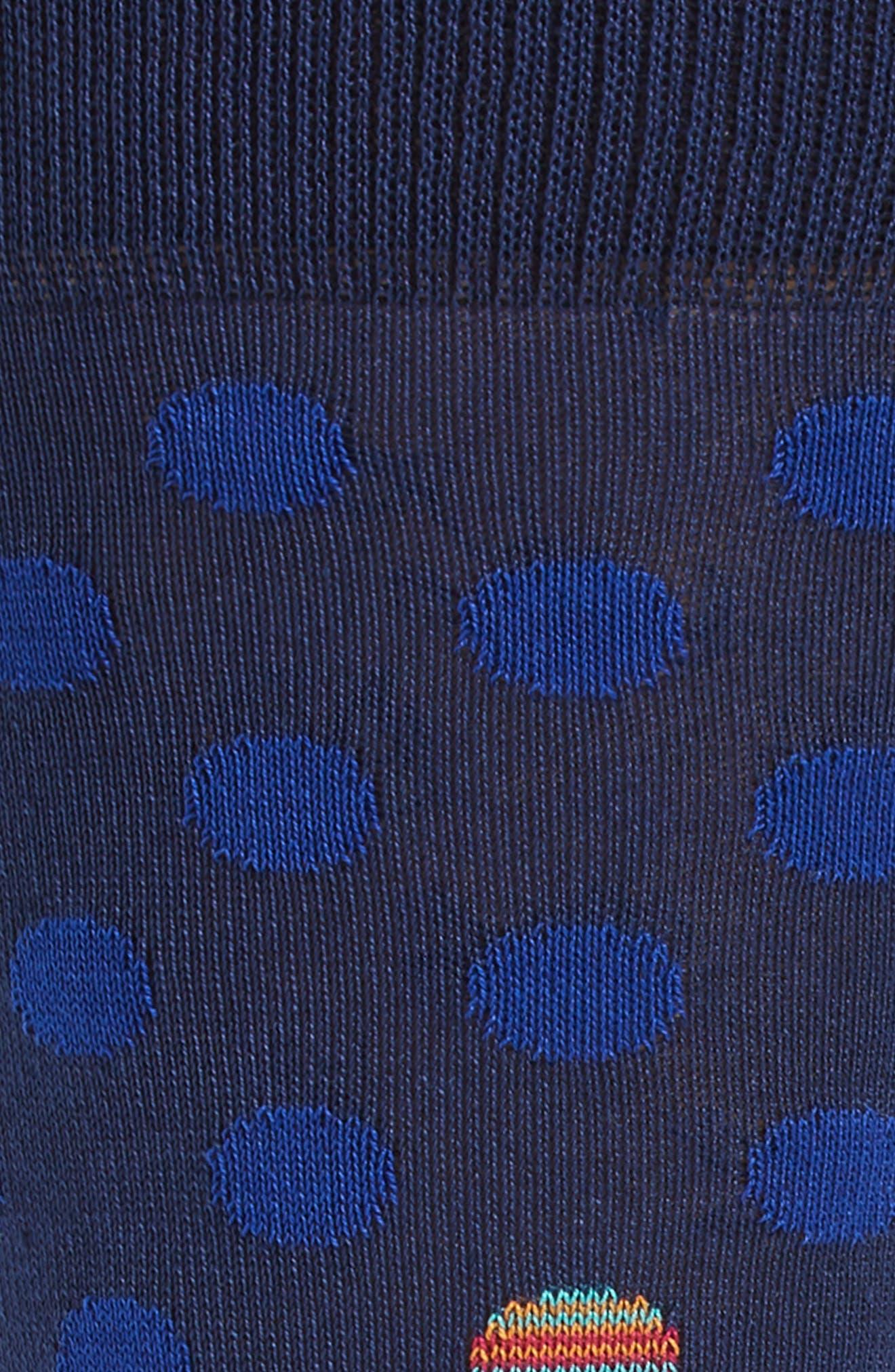 Dot Socks,                             Alternate thumbnail 2, color,                             411