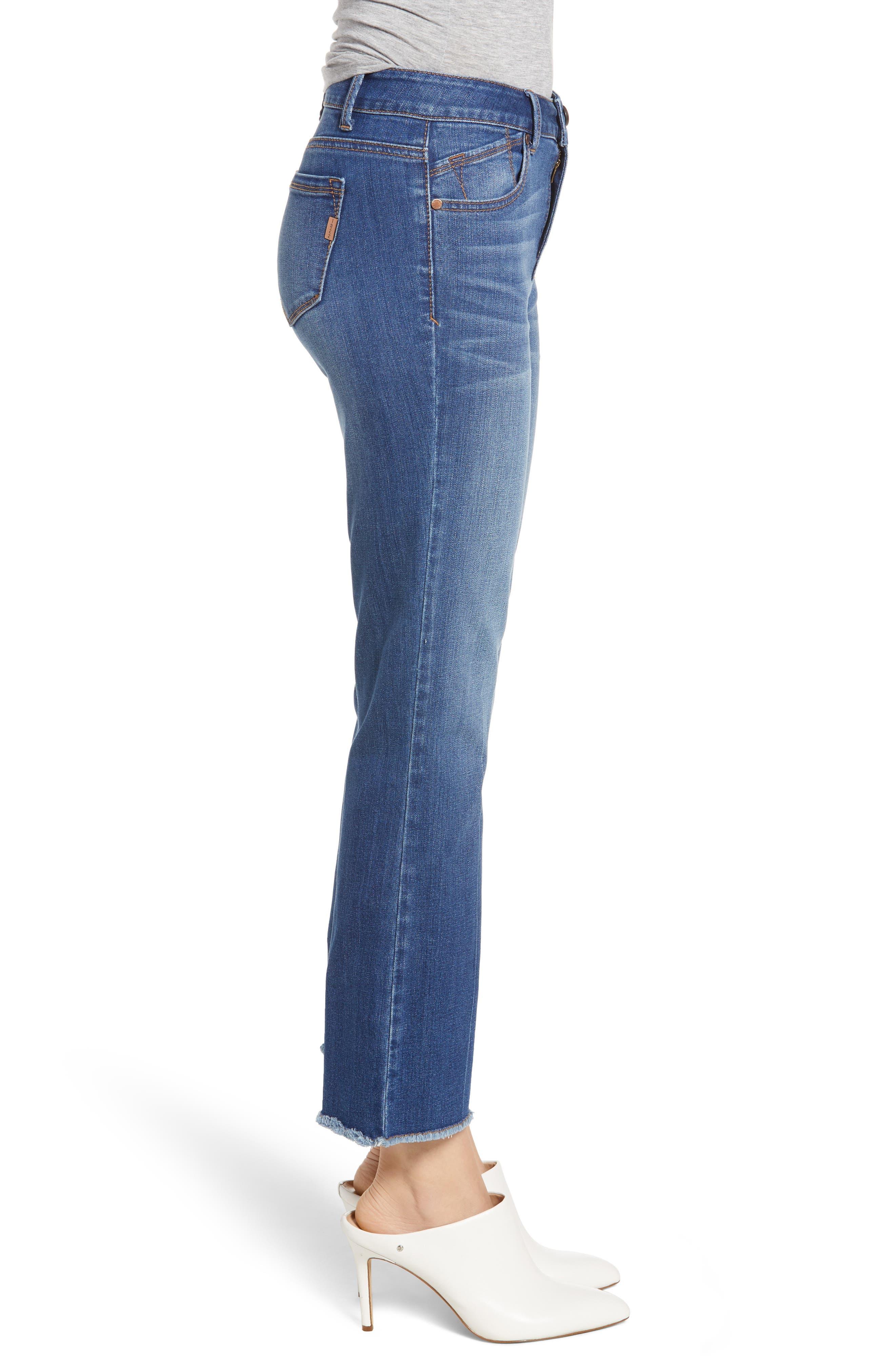Crop Bootcut Jeans,                             Alternate thumbnail 3, color,                             TESSA