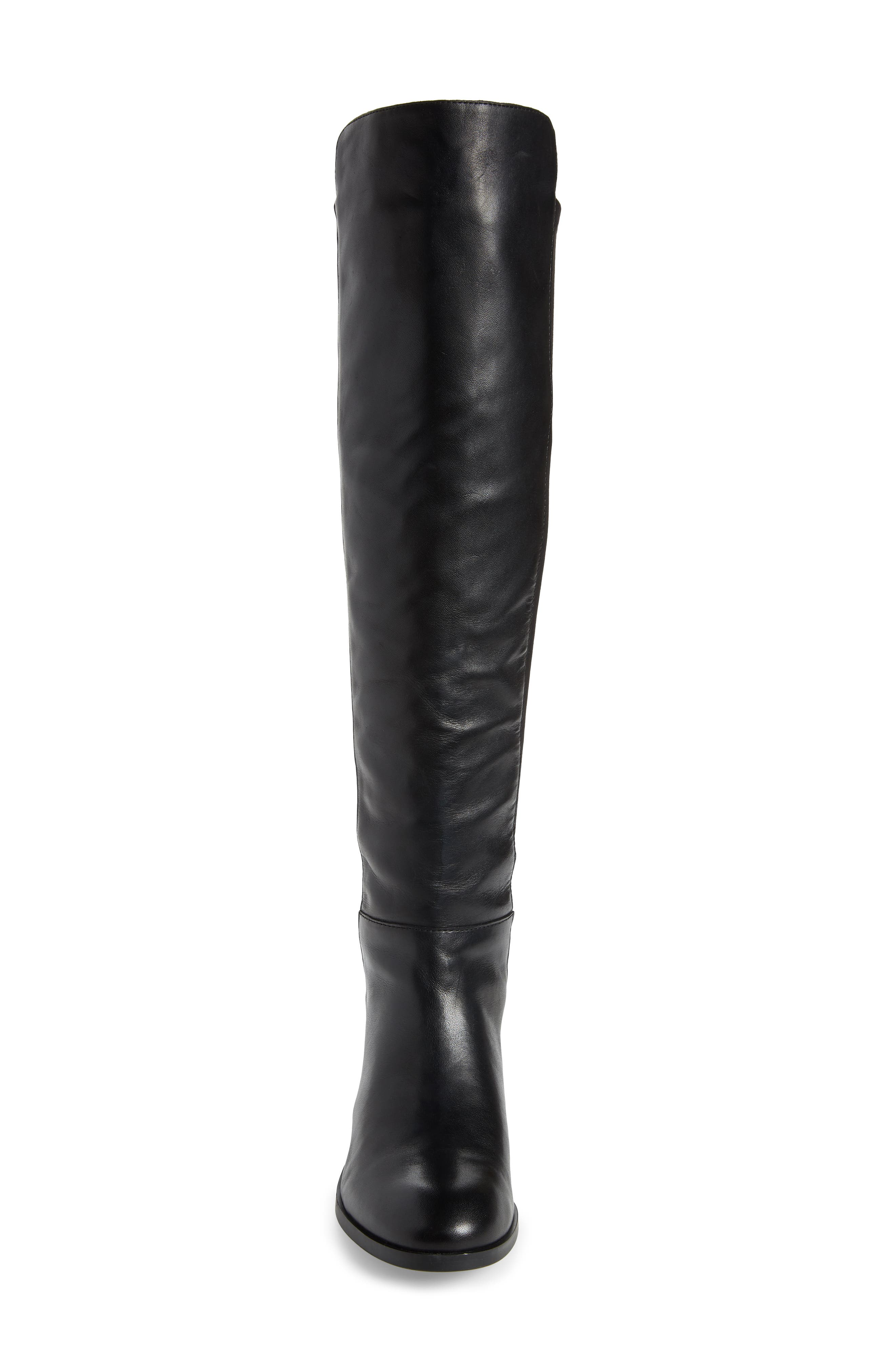 Calypso Over the Knee Boot,                             Alternate thumbnail 4, color,                             001