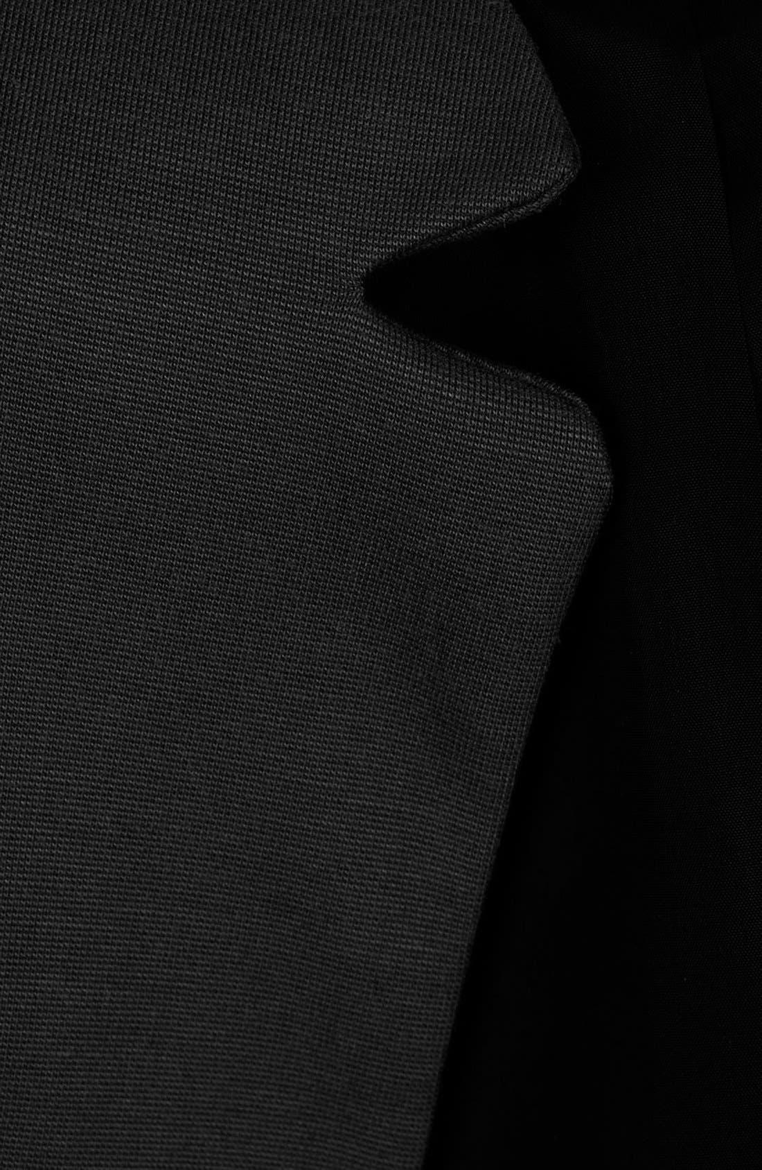 'Romeo' Inverted Lapel Blazer,                             Alternate thumbnail 3, color,                             001