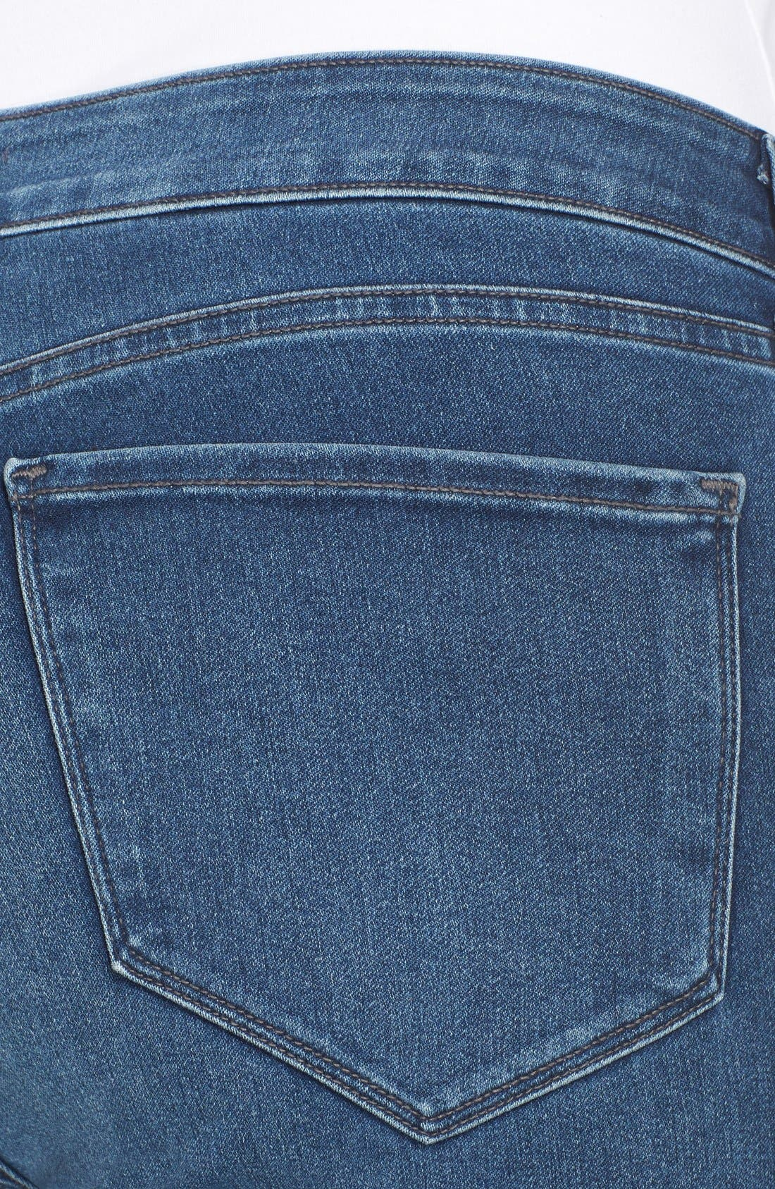 'Alina' Stretch Skinny Jeans,                             Alternate thumbnail 4, color,                             461