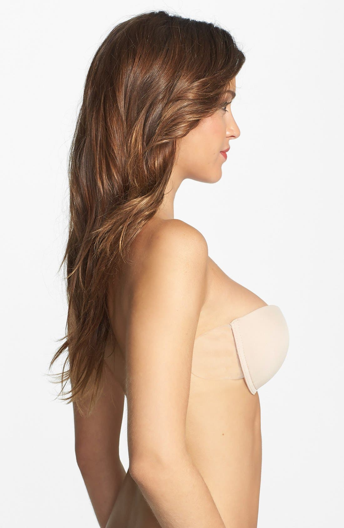 Go Bare Ultimate Boost Bra,                             Alternate thumbnail 7, color,                             NUDE