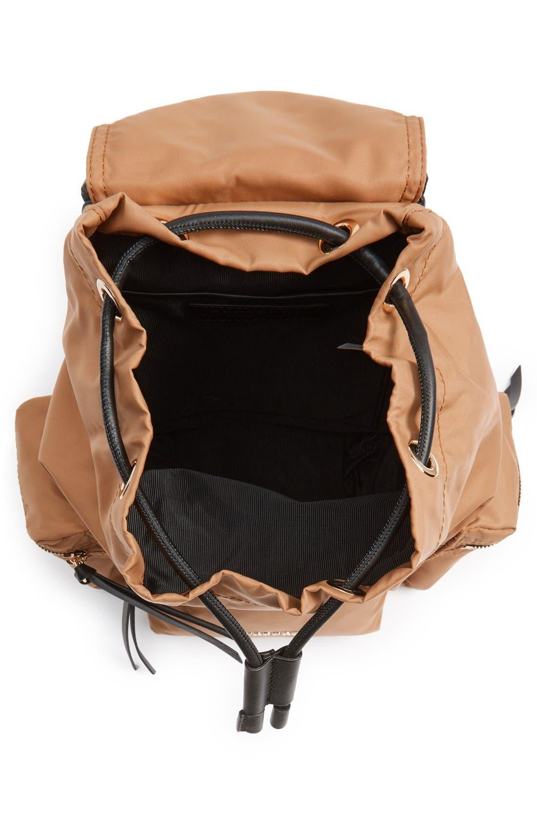 'Small Runway Rucksack' Nylon Backpack,                             Alternate thumbnail 4, color,                             272