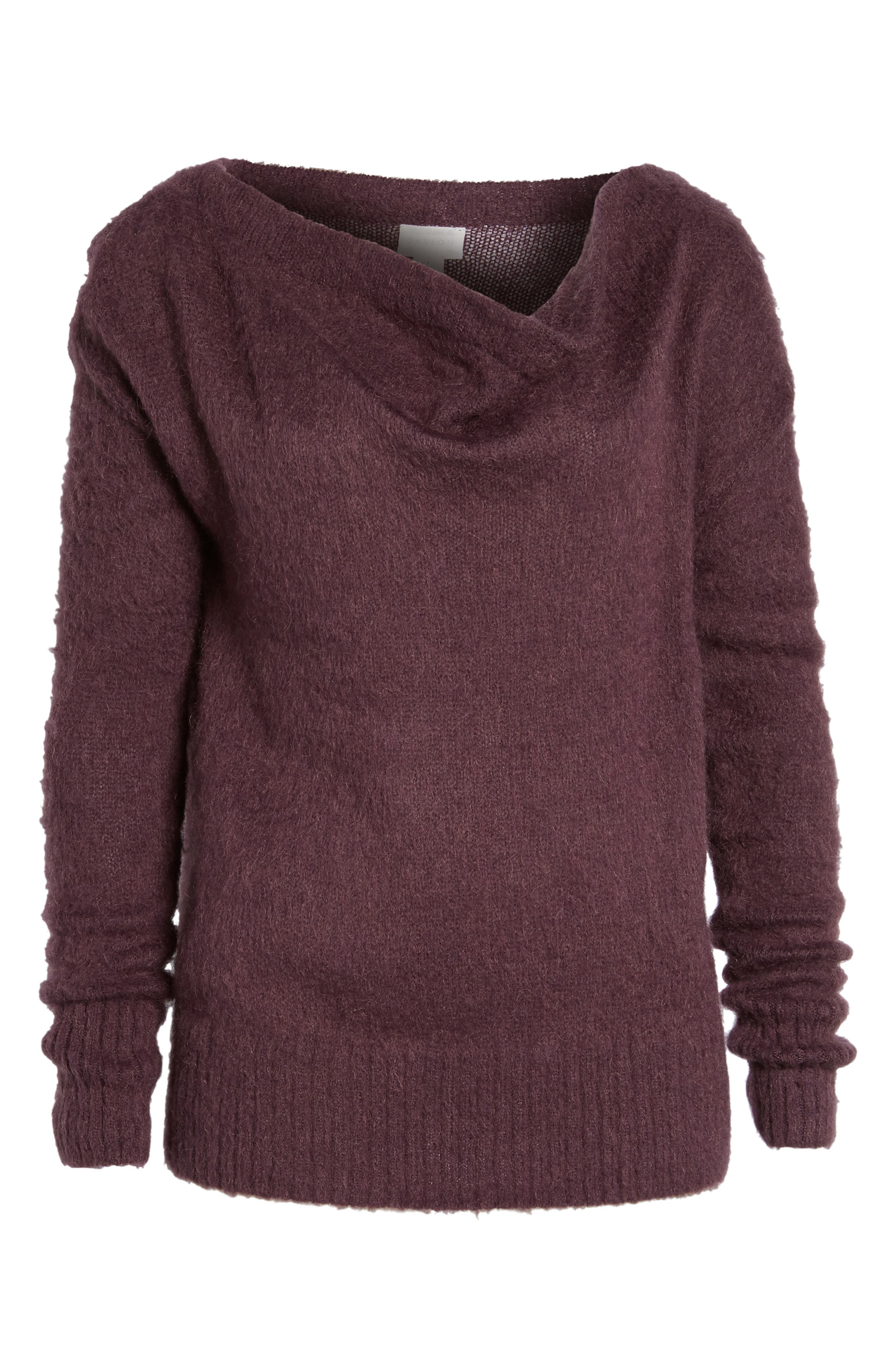 Long Sleeve Brushed Sweater,                             Alternate thumbnail 34, color,