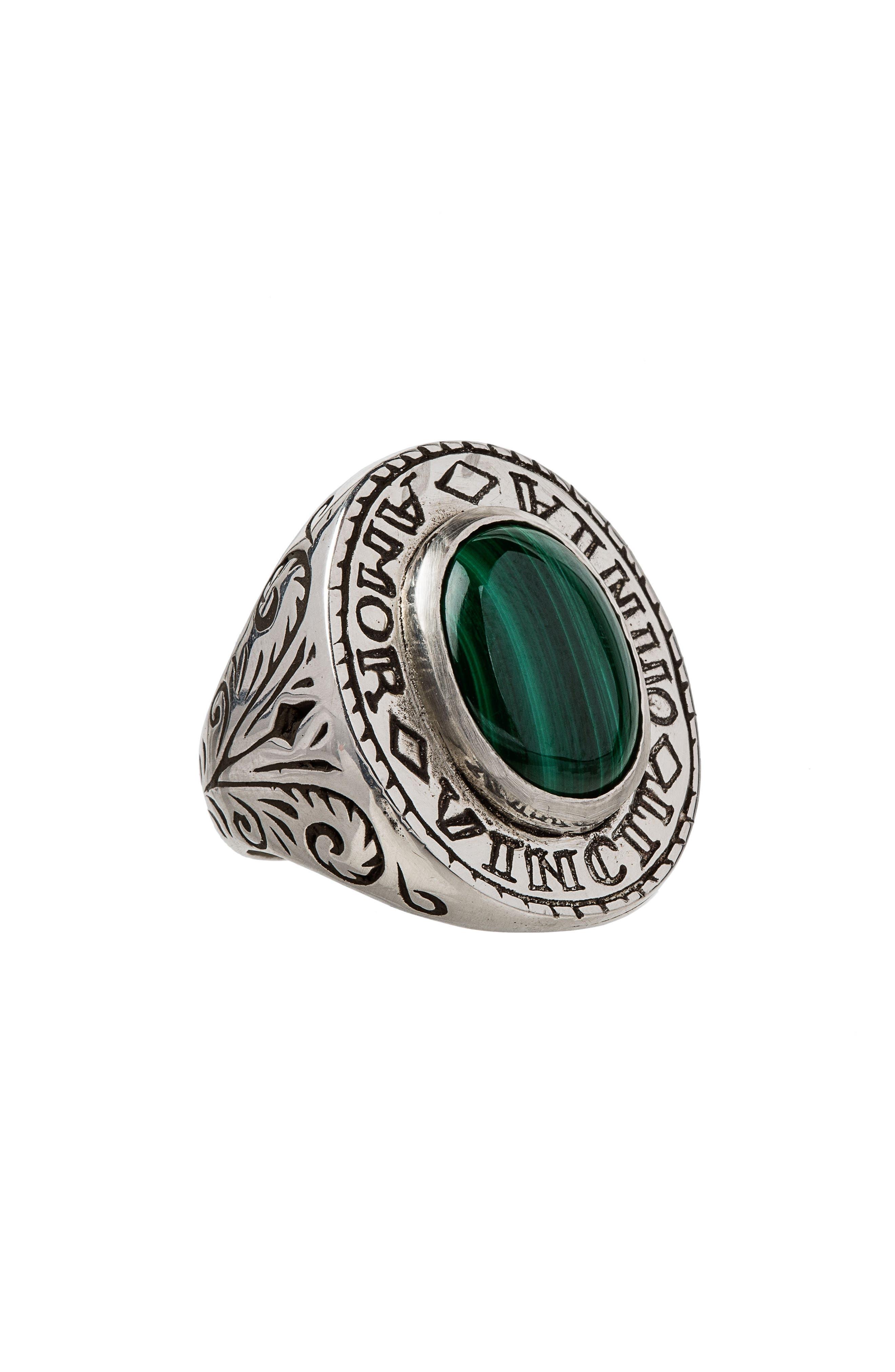 Amor Signet Ring,                             Main thumbnail 1, color,                             300
