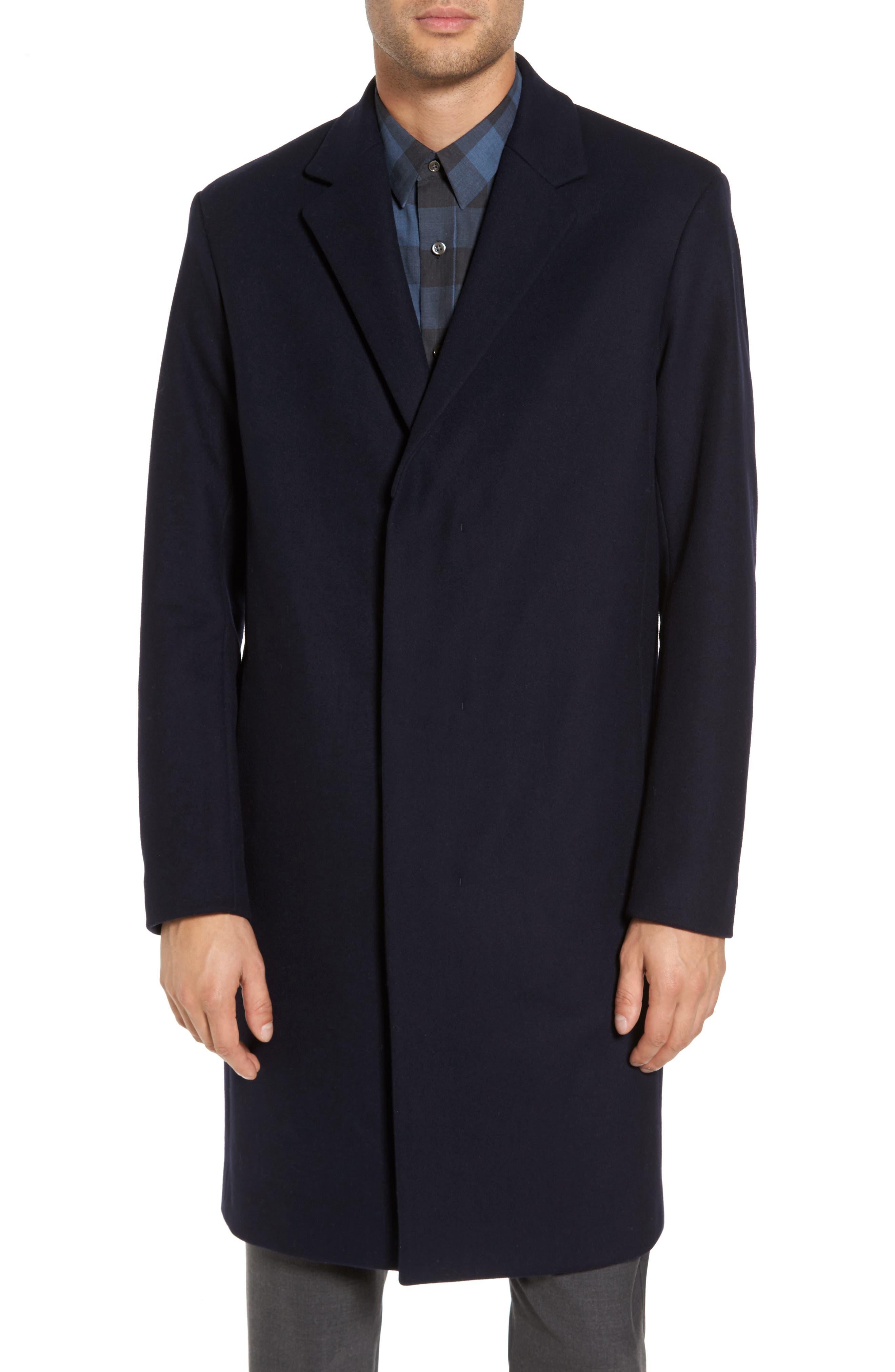 Bower Melton Wool Blend Topcoat,                             Alternate thumbnail 12, color,