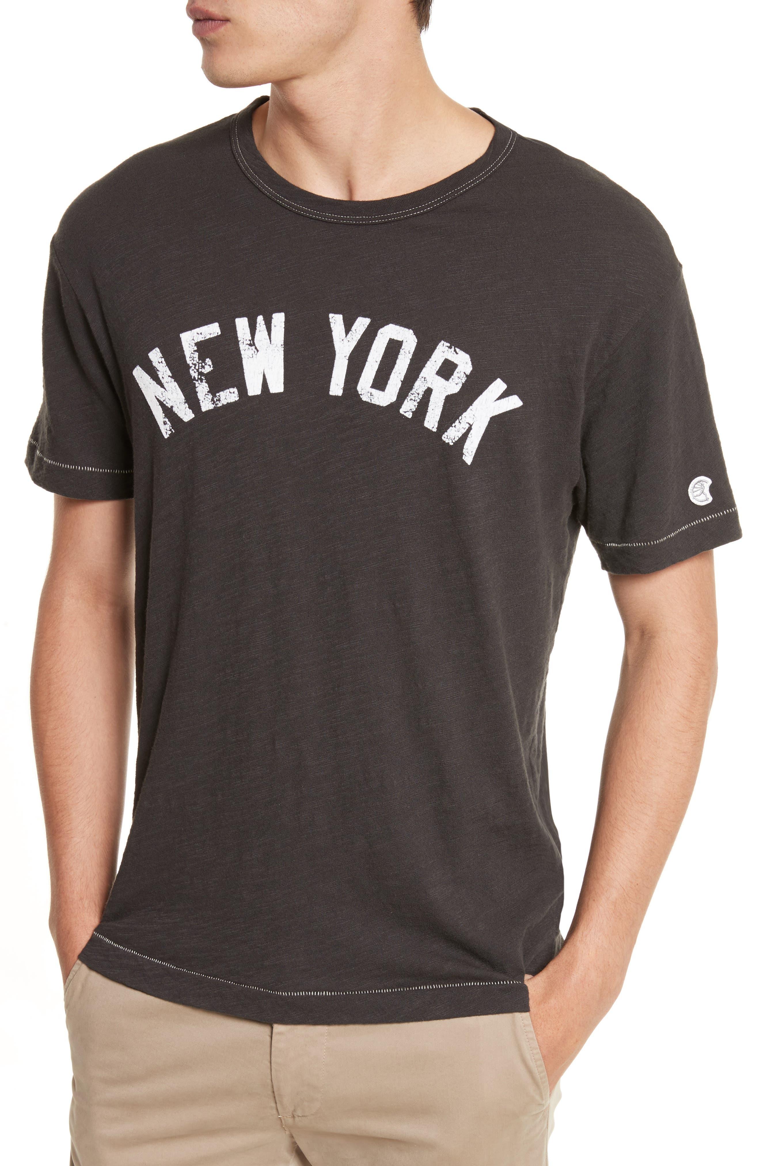 New York T-Shirt,                             Alternate thumbnail 4, color,                             001