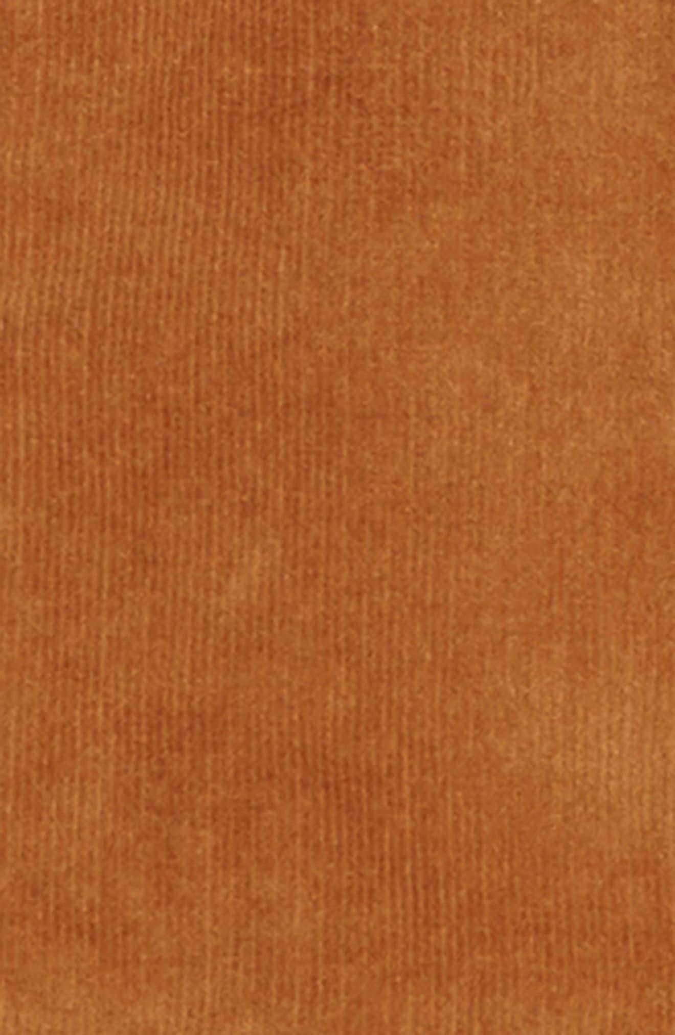 Reversible Corduroy/Plaid Hooded Jacket,                             Alternate thumbnail 3, color,                             TAN DALE