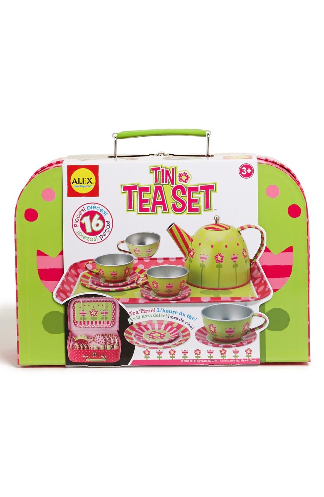 Alex Toys 'Tin Tea' Set,                             Alternate thumbnail 2, color,                             000