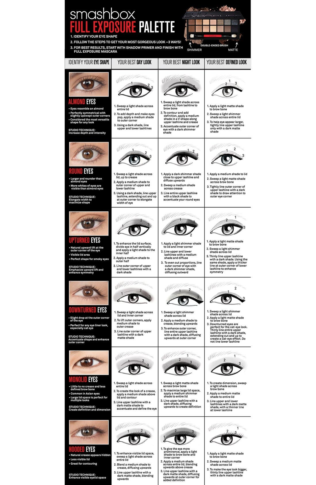 Full Exposure Eye Palette with Primer,                             Alternate thumbnail 4, color,                             NO COLOR