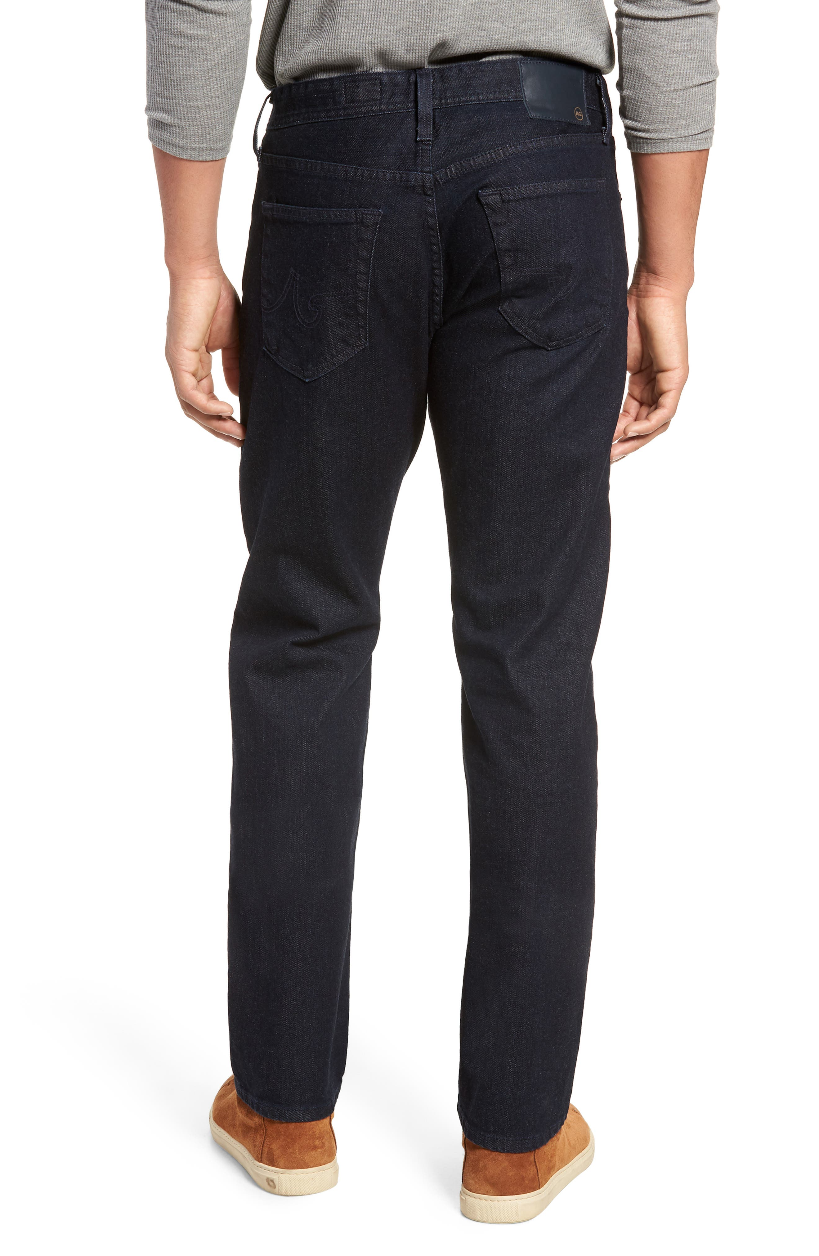 Graduate Slim Straight Leg Jeans,                             Alternate thumbnail 2, color,                             STELLAR