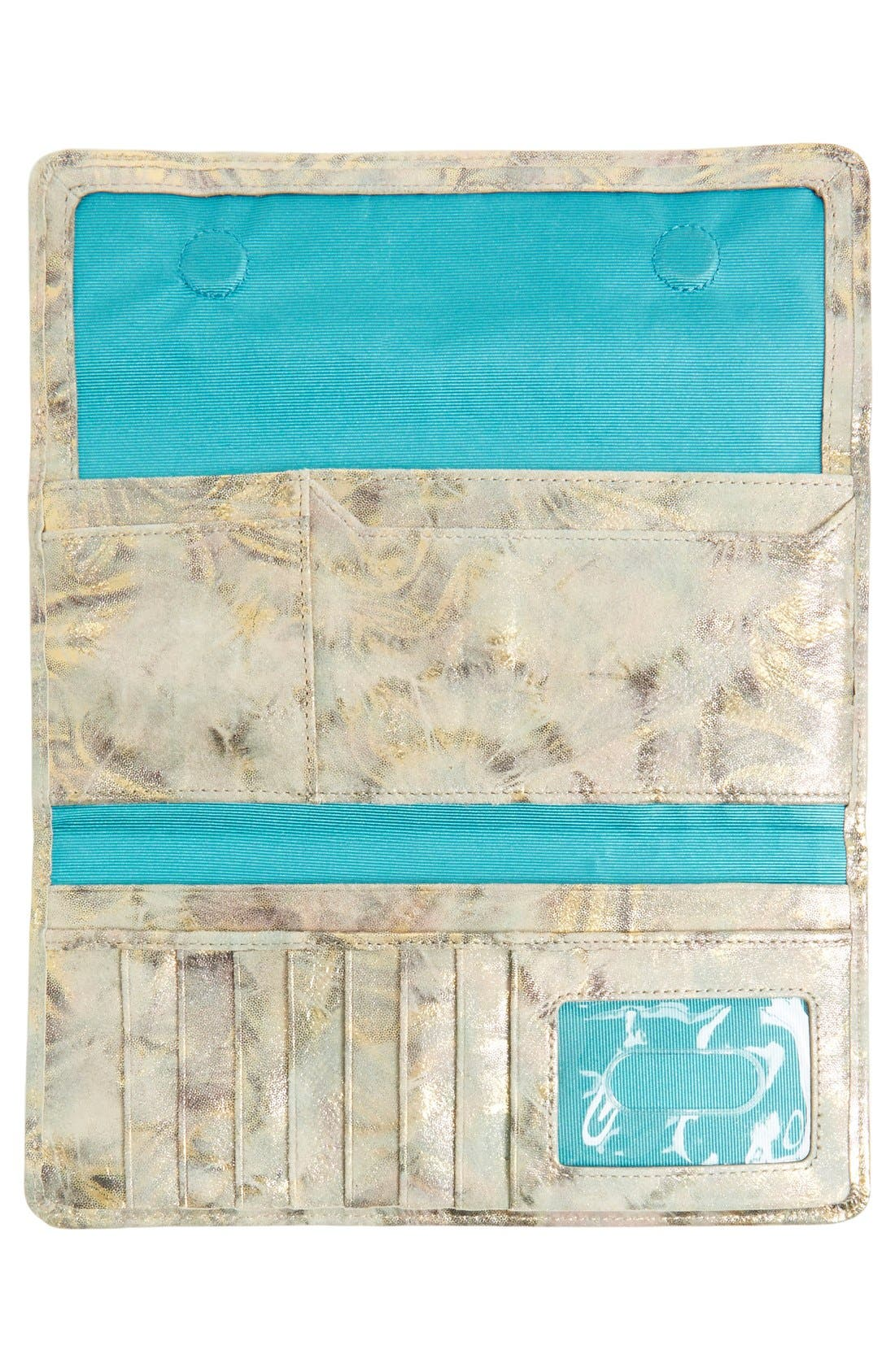 'Sadie' Leather Wallet,                             Alternate thumbnail 184, color,