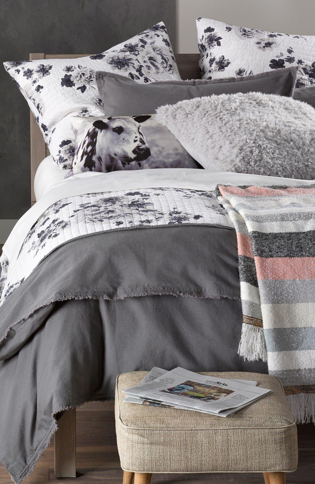 'Terra' Cotton & Linen Sham,                             Alternate thumbnail 3, color,                             021