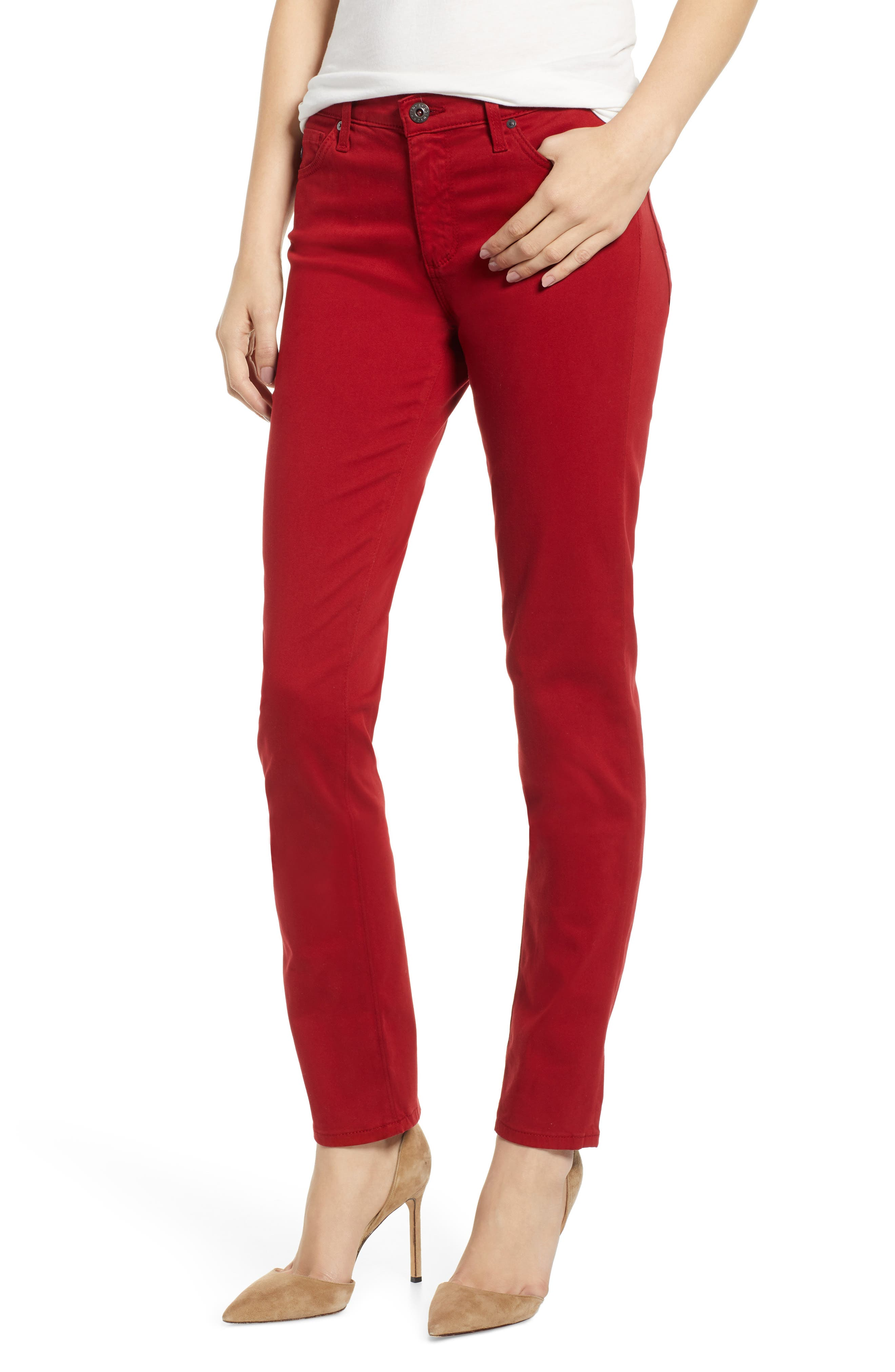 'The Prima' Cigarette Leg Skinny Jeans,                             Main thumbnail 2, color,