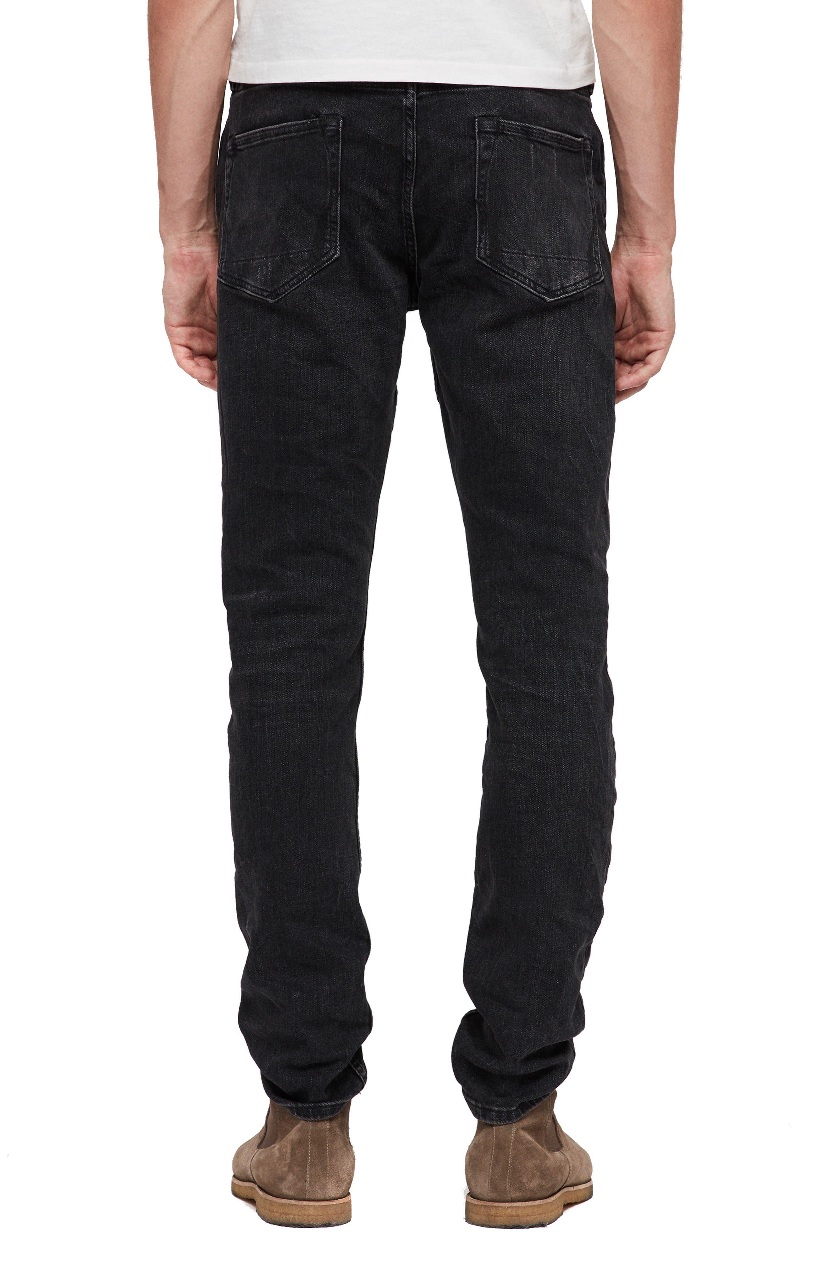 Rex Slim Fit Straight Leg Jeans,                             Alternate thumbnail 2, color,                             005