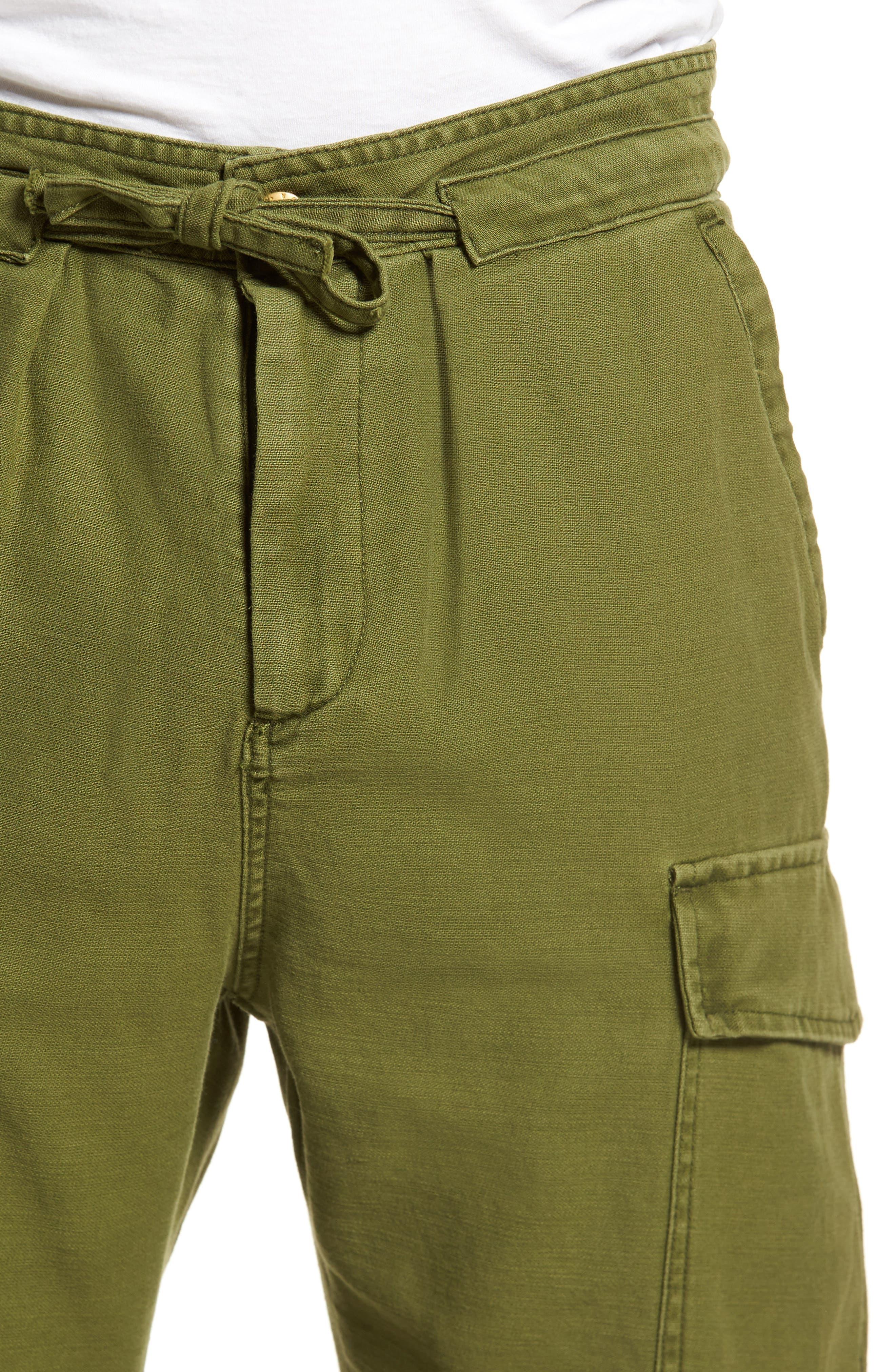Canvas Cargo Pants,                             Alternate thumbnail 4, color,