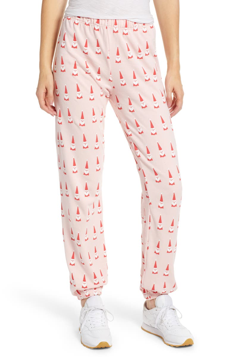 Wildfox LIL CLAUS EASY SWEATPANTS
