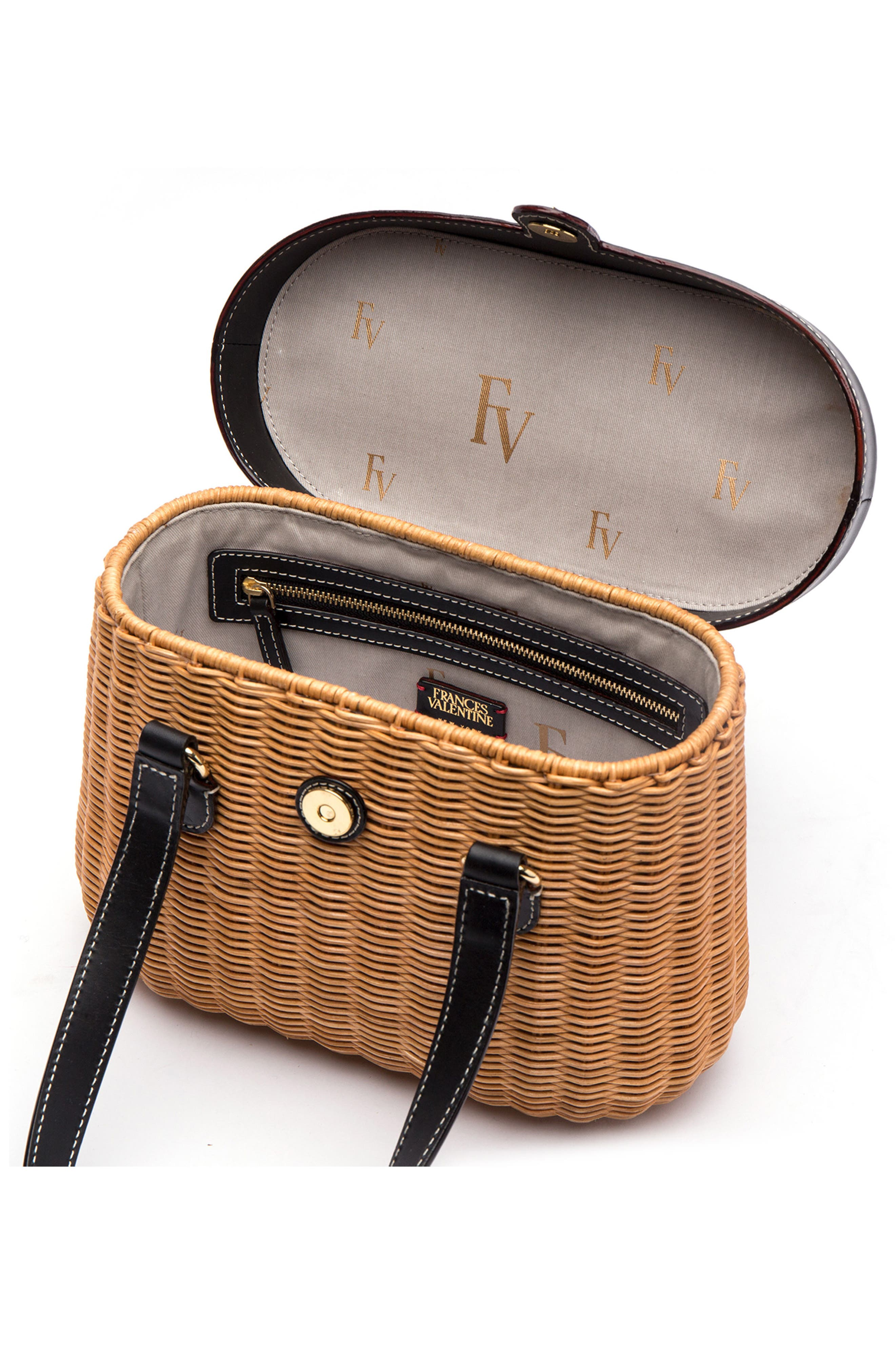 Wicker Basket Shoulder Bag,                             Alternate thumbnail 2, color,                             250