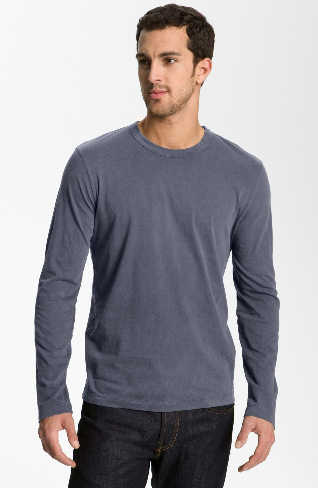 Long Sleeve Crewneck T-Shirt,                             Main thumbnail 24, color,