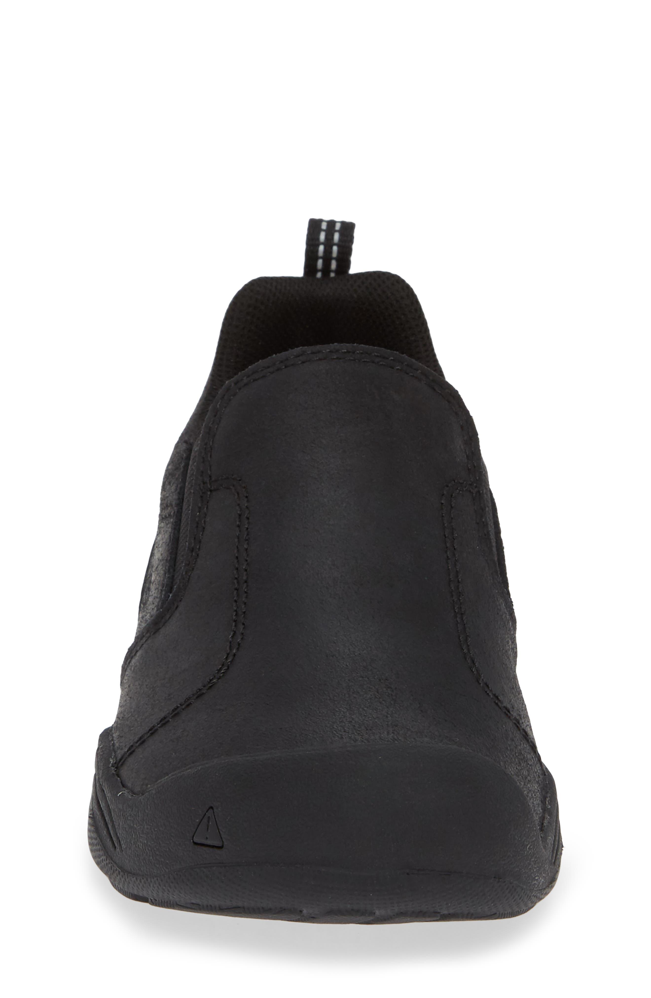 Jasper Slip-On Sneaker,                             Alternate thumbnail 4, color,                             BLACK/ RAVEN