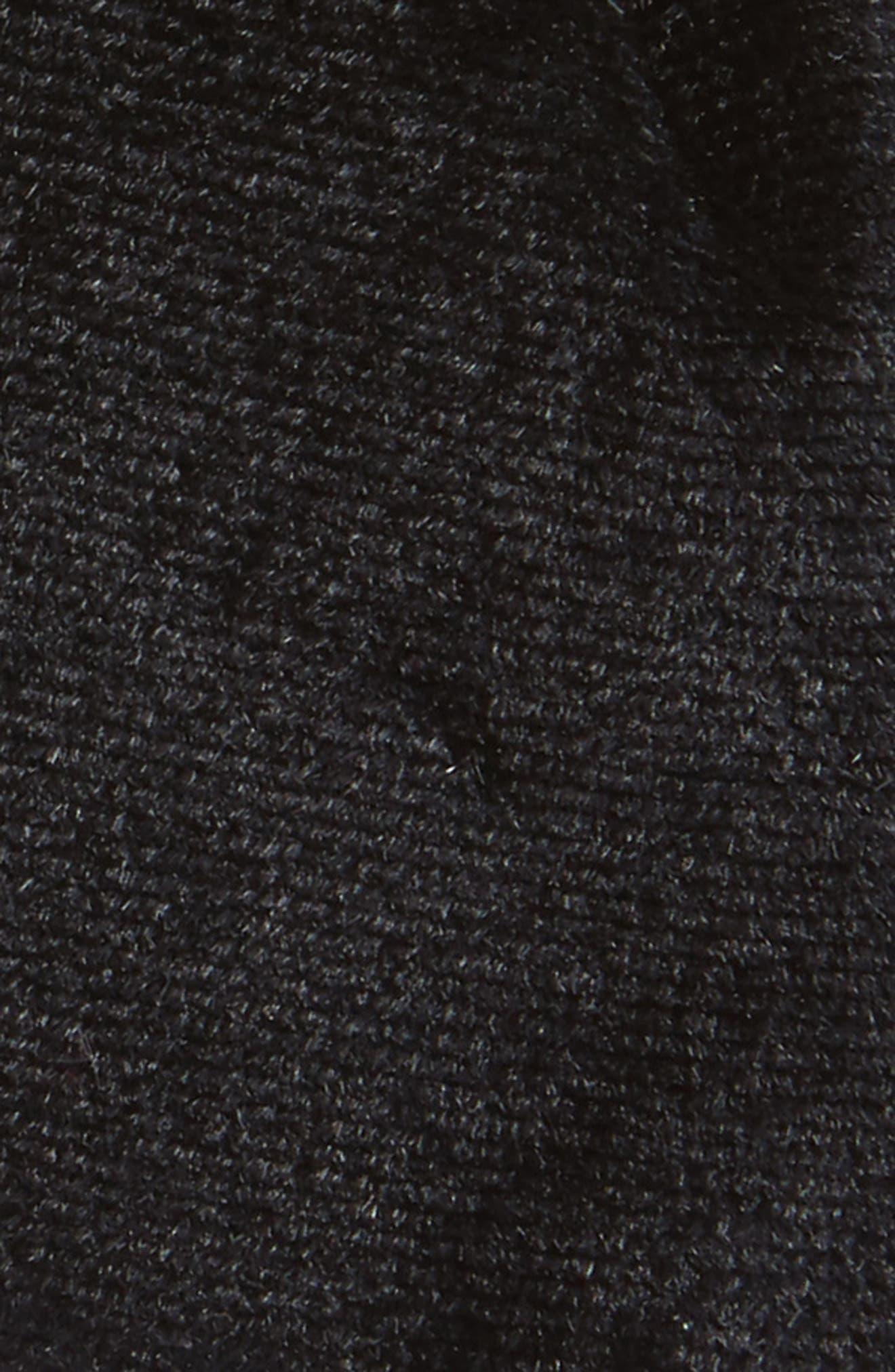 Velvet Bow Headband,                             Alternate thumbnail 2, color,                             001