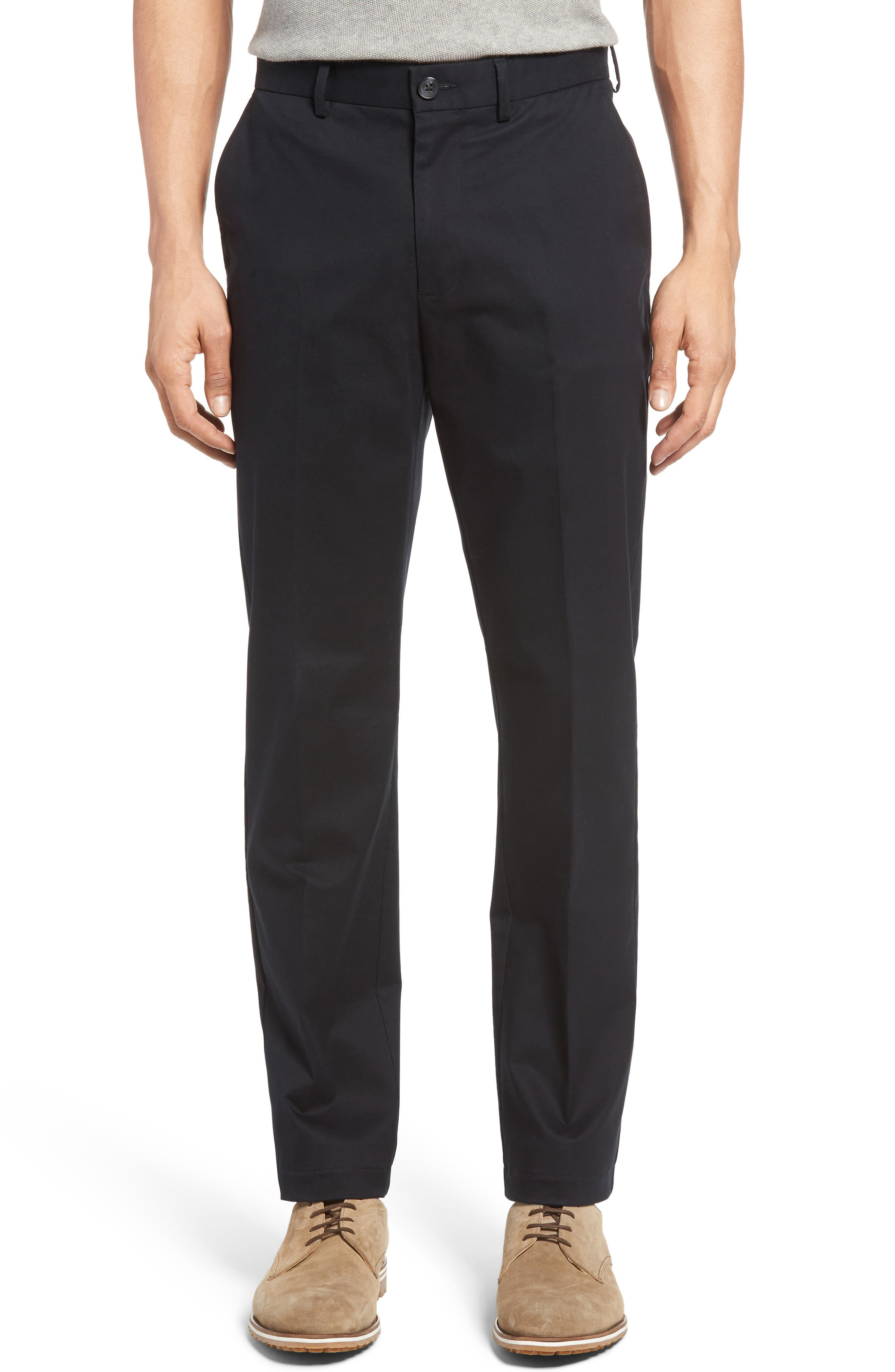 Nordstrom Men's Shop Georgetown Chinos,                             Main thumbnail 1, color,                             001