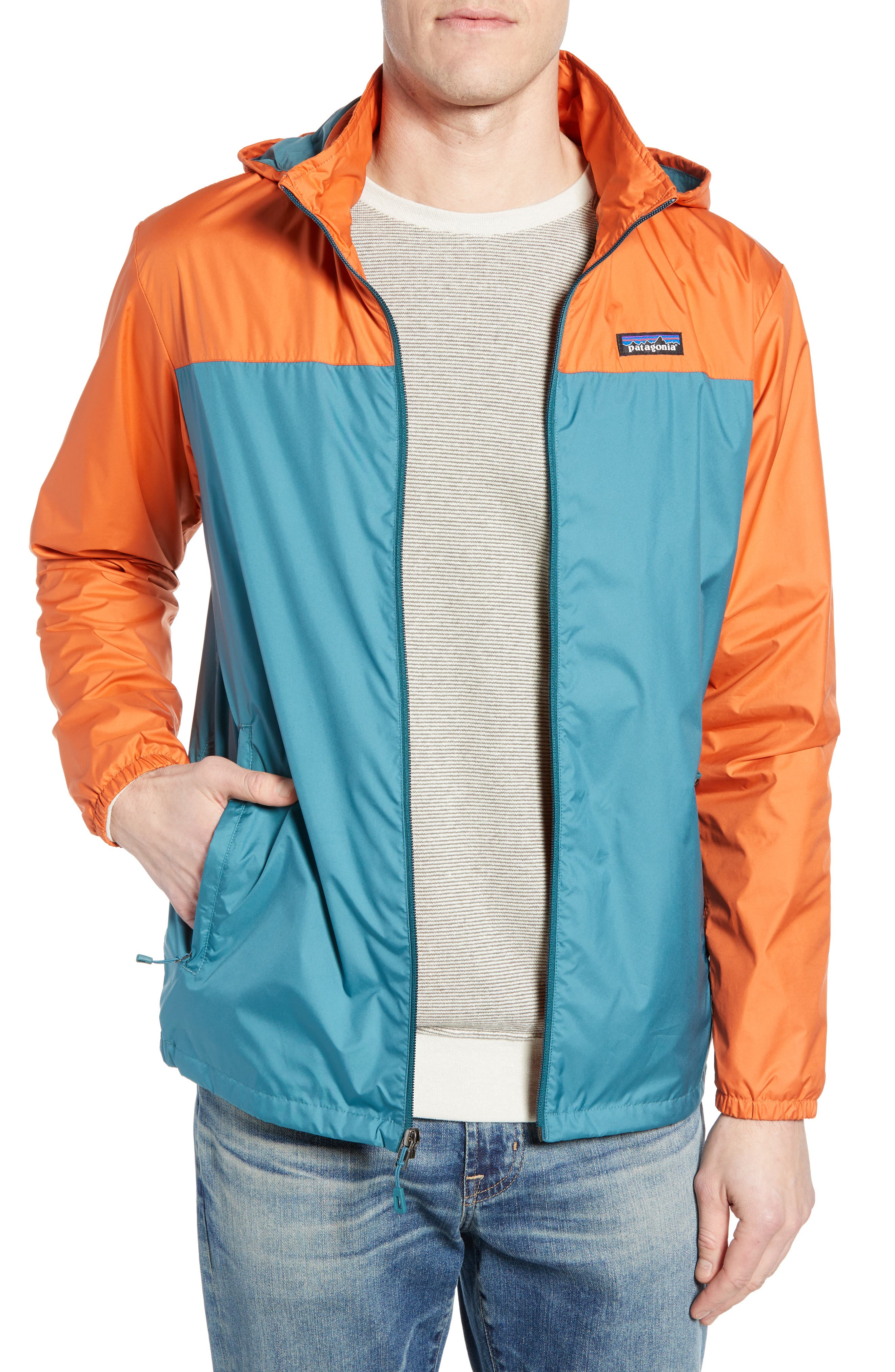Light & Variable<sup>™</sup> Wind & Water Resistant Hooded Jacket,                         Main,                         color, 440