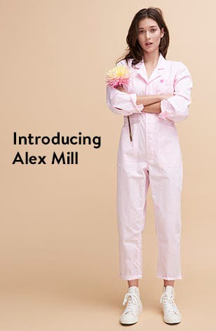 Introducing women's clothing from Alex Mill.