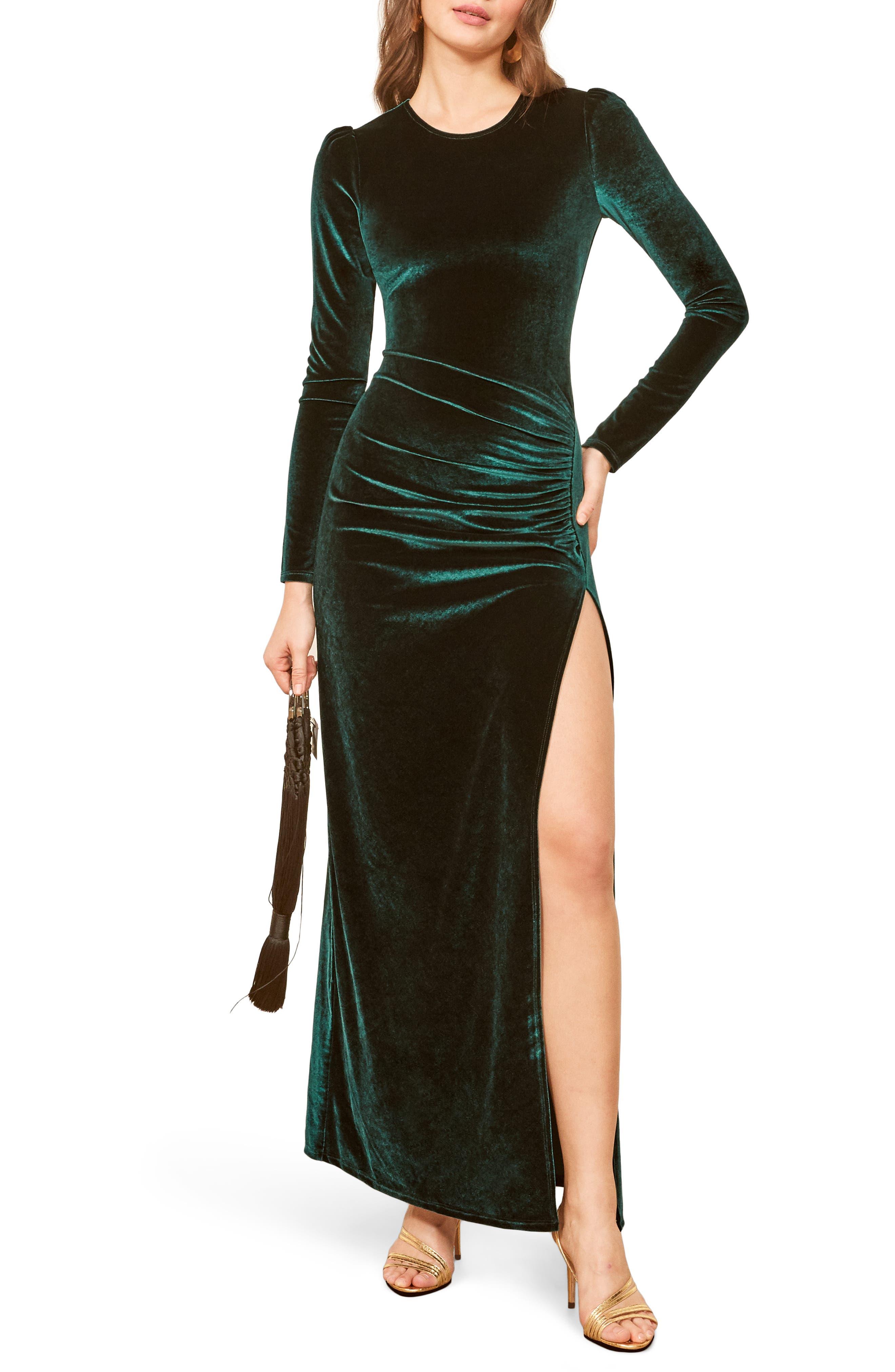 Ruby Maxi Dress,                             Main thumbnail 1, color,                             EMERALD