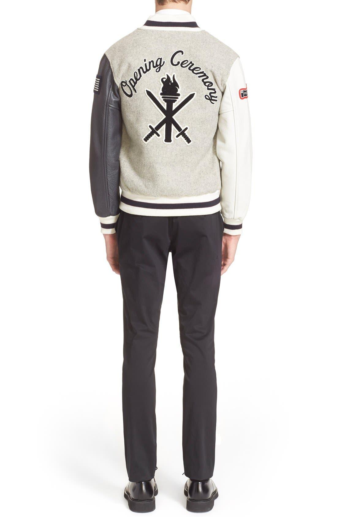 'OC Classic' Varsity Jacket,                             Alternate thumbnail 2, color,