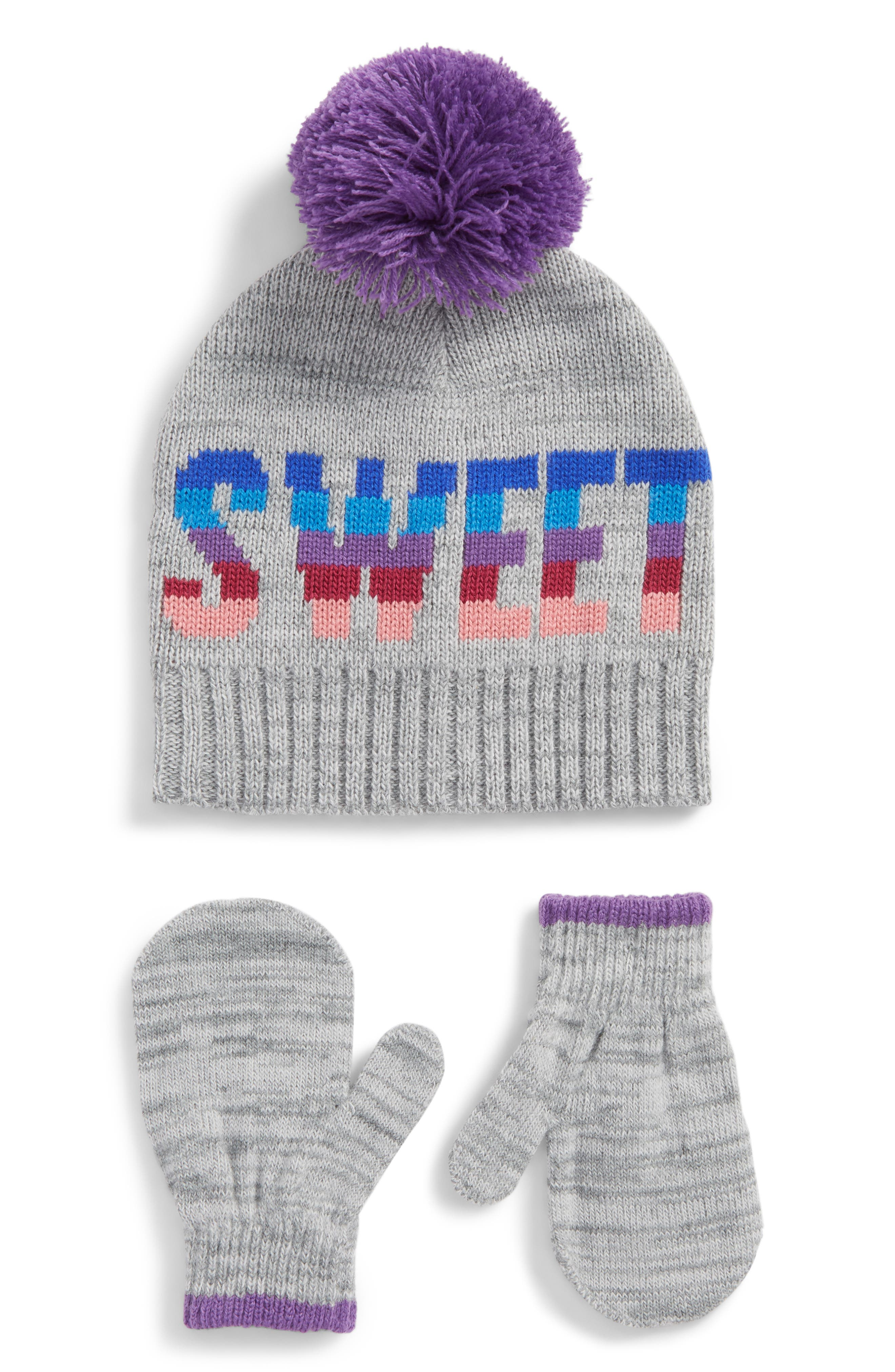 Beanie & Mittens,                         Main,                         color, 020