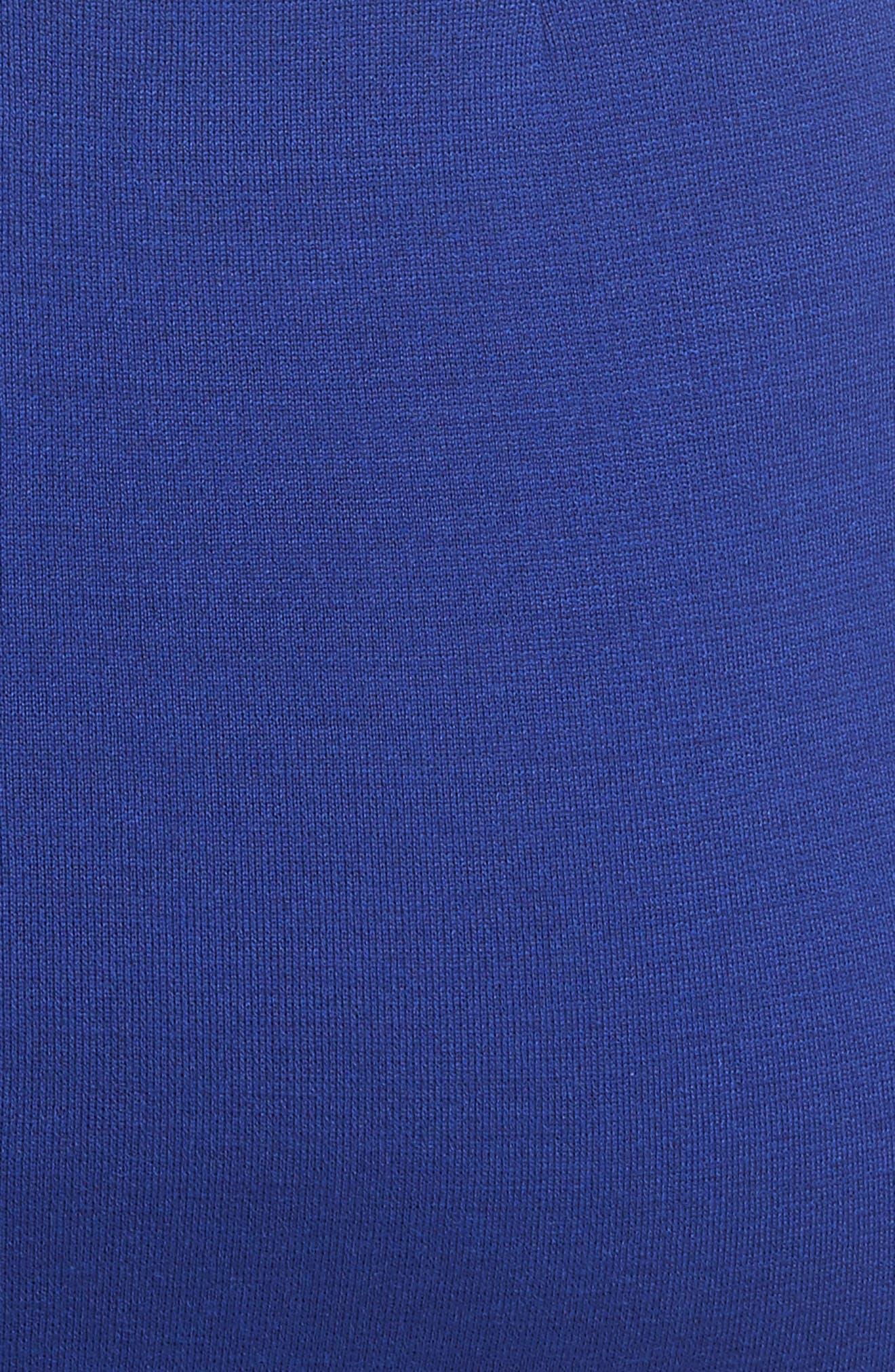 Milano Knit Sheath Dress,                             Alternate thumbnail 5, color,                             430