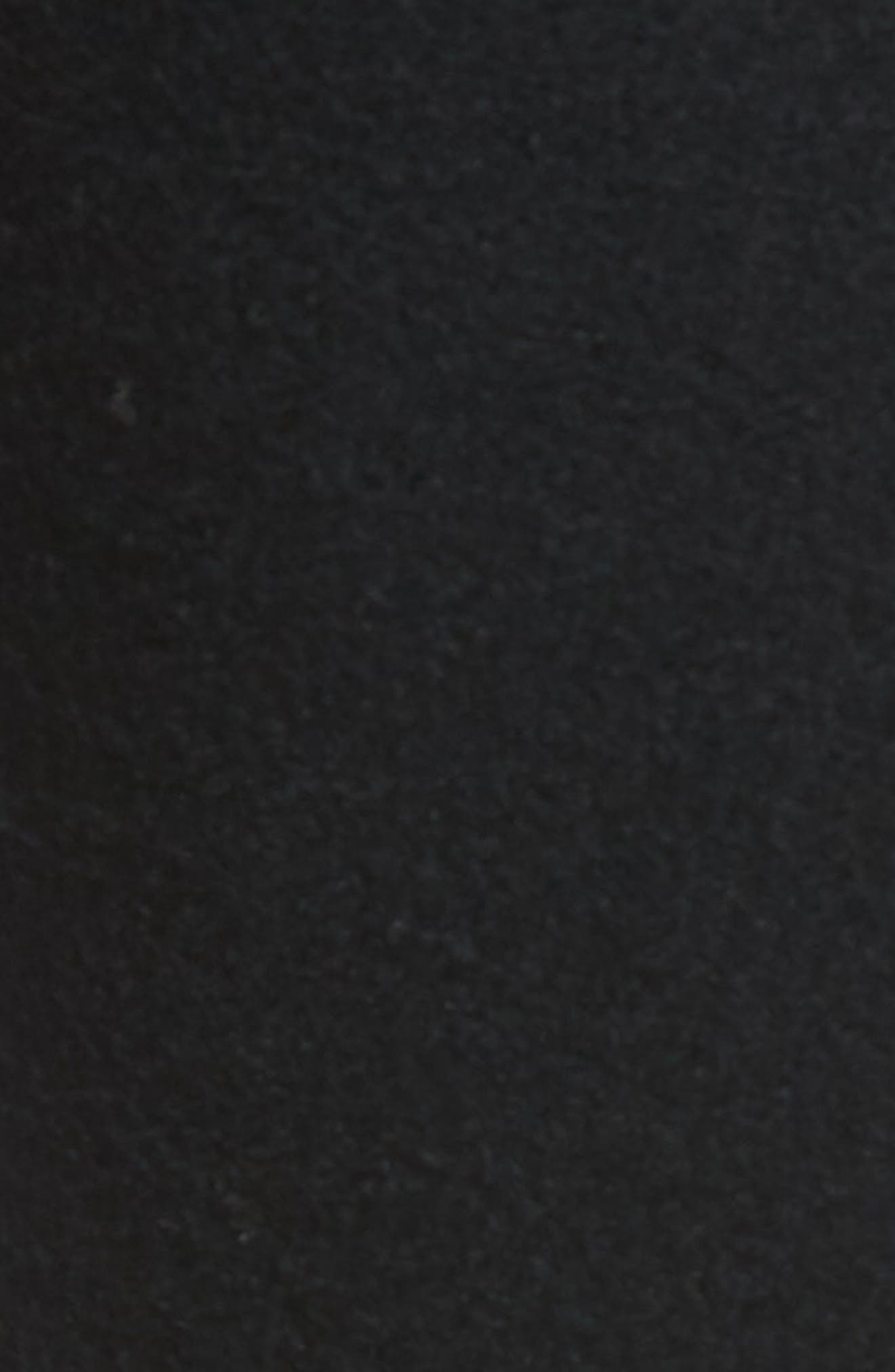Sector Slim Fit Wool Jersey Pants,                             Alternate thumbnail 5, color,                             BLACK
