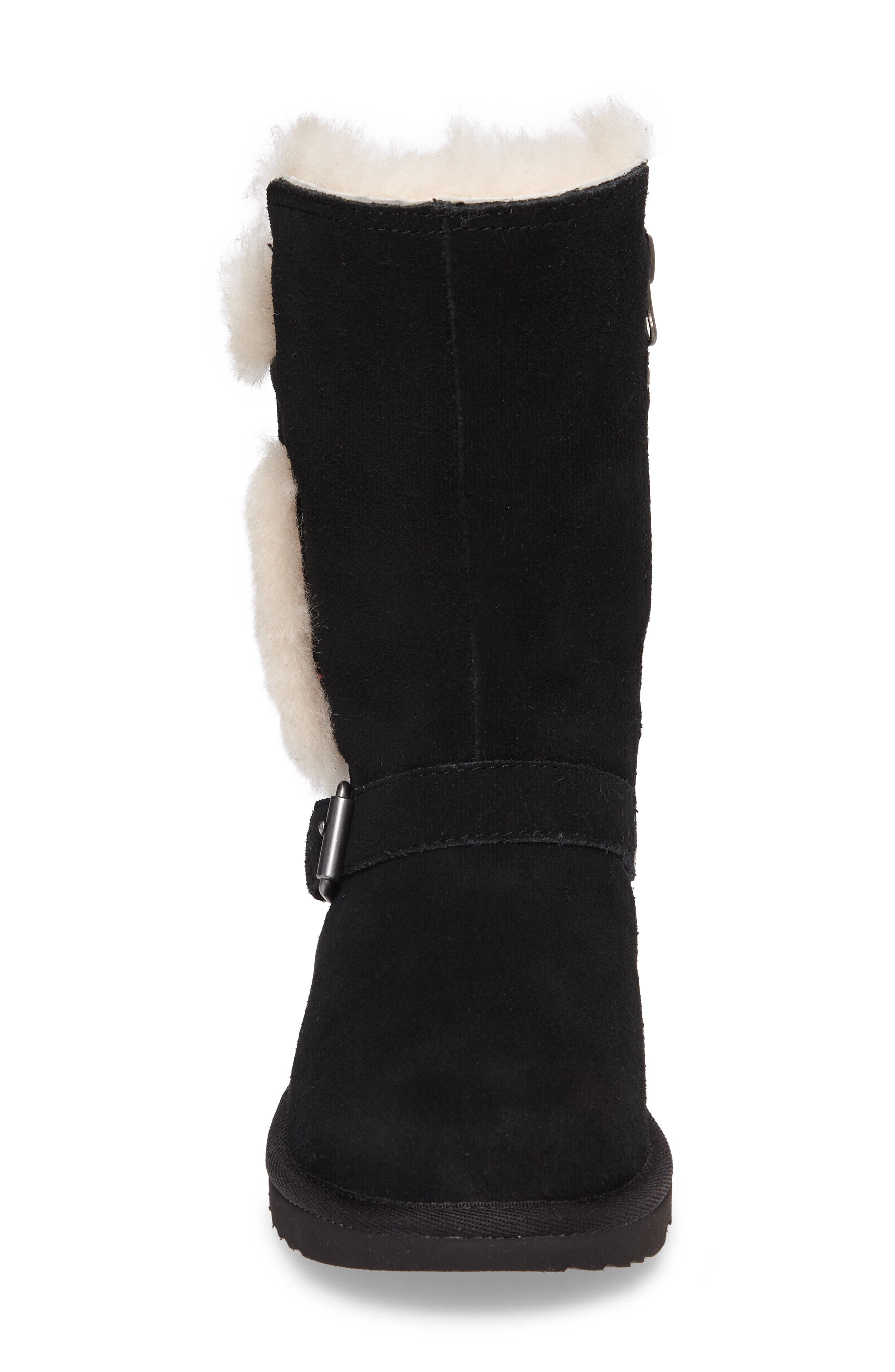 Magda Water Resistant Boot,                             Alternate thumbnail 4, color,                             001