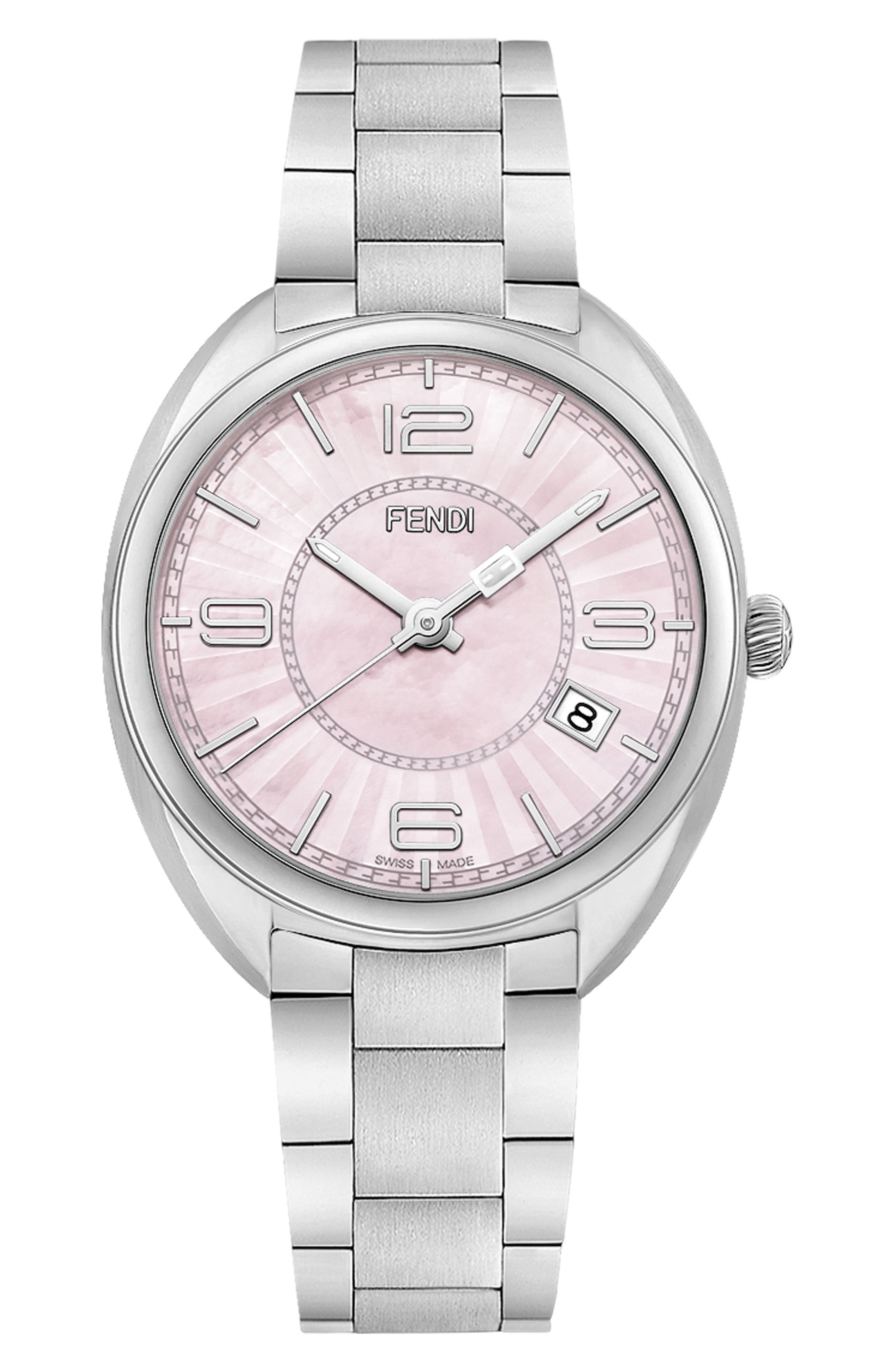 Momento Mother of Pearl Bracelet Watch, 34mm,                             Main thumbnail 2, color,