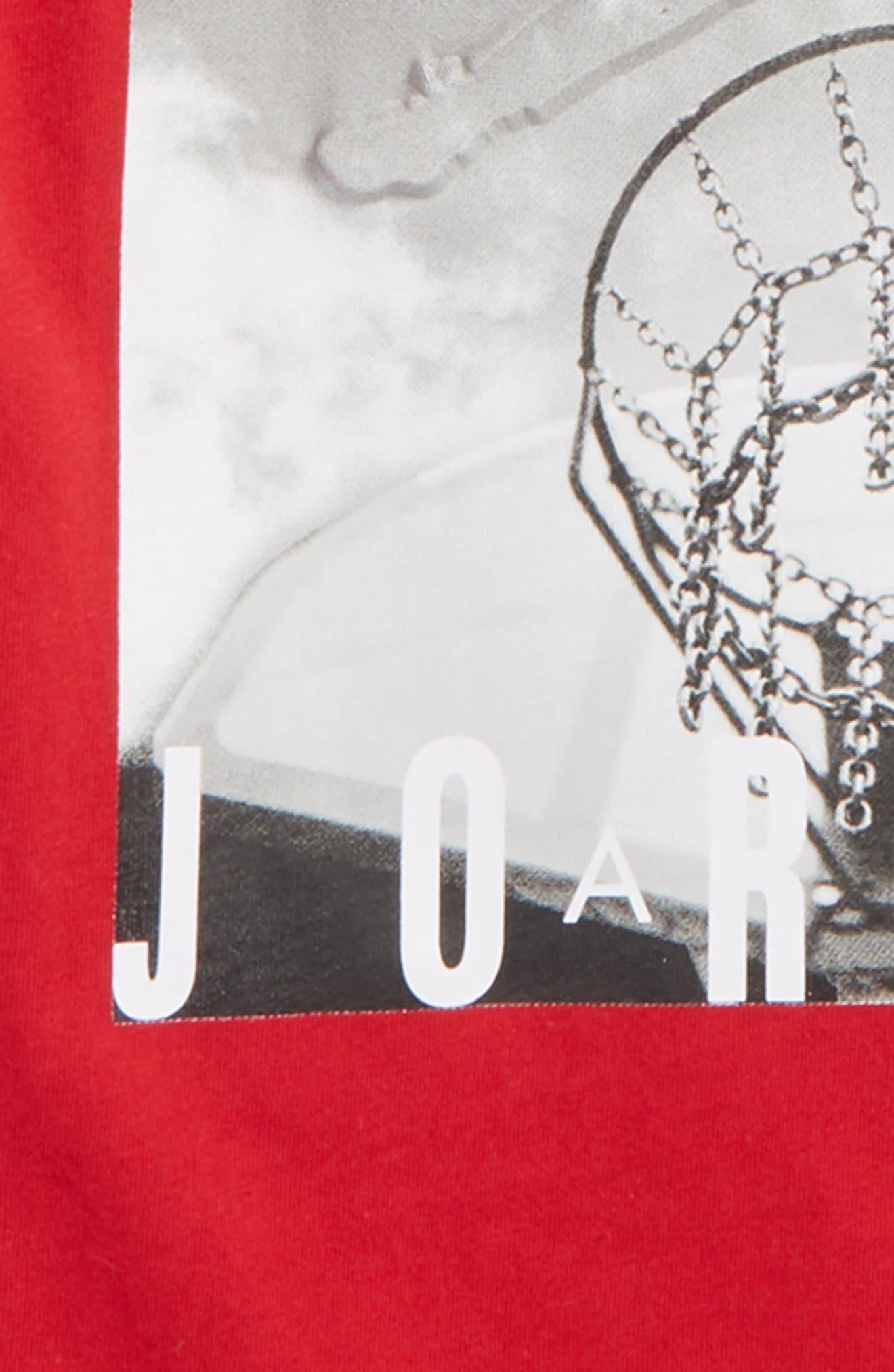 Jordan Hard Court Graphic T-Shirt,                             Alternate thumbnail 2, color,                             606
