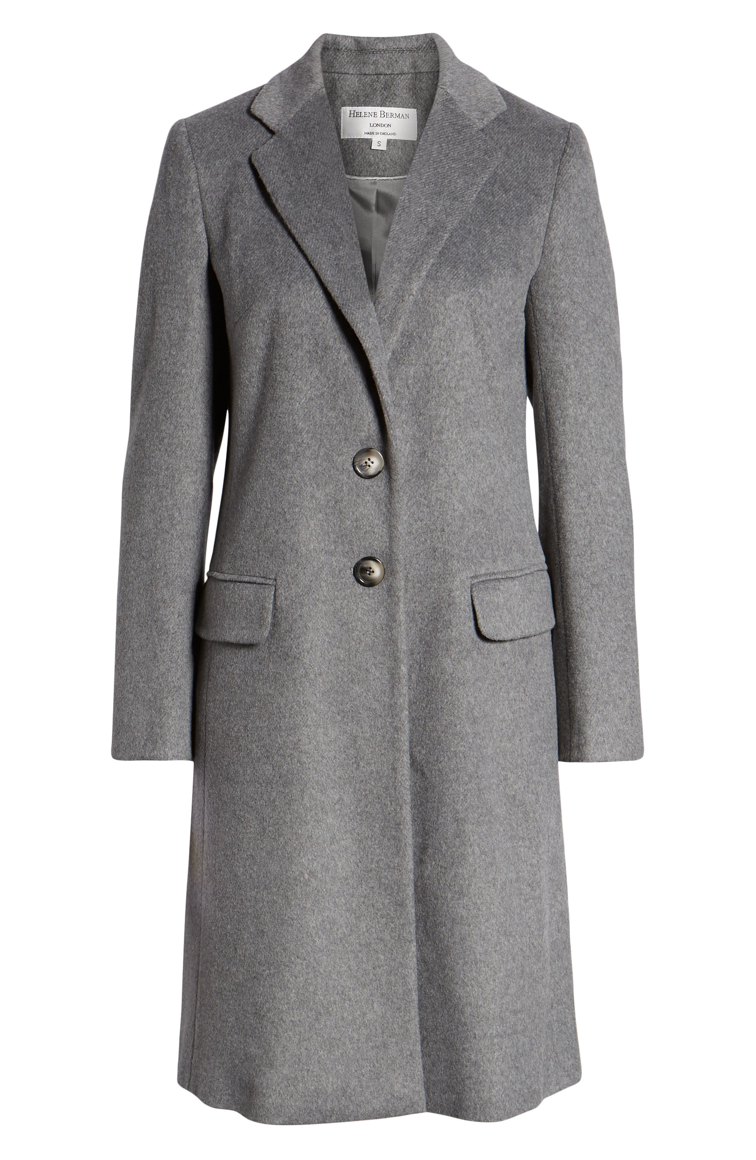Charles Gray London College Coat, Alternate, color, DARK GREY