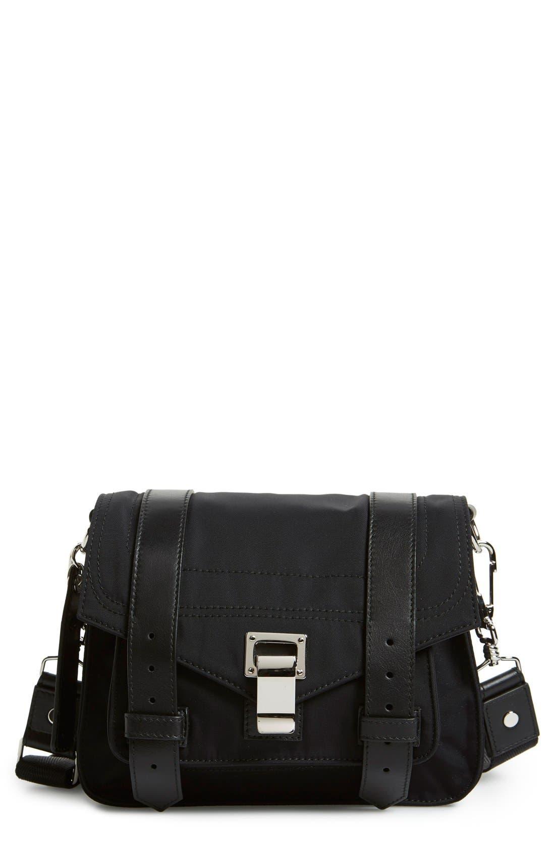 'PS1 Pouch' Nylon Crossbody Bag, Main, color, 001