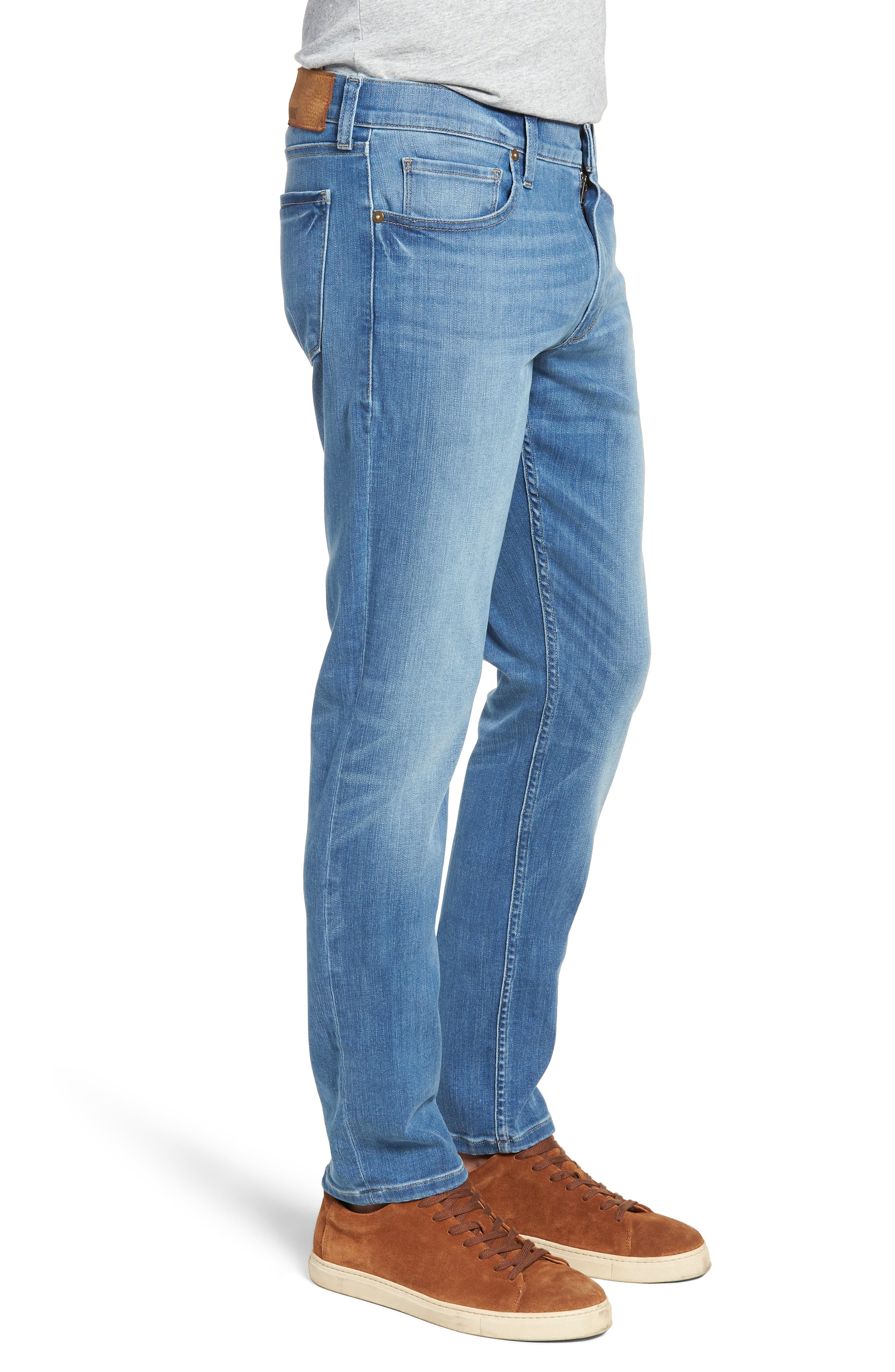 Transcend - Federal Slim Straight Leg Jeans,                             Alternate thumbnail 3, color,                             HAMMONDS